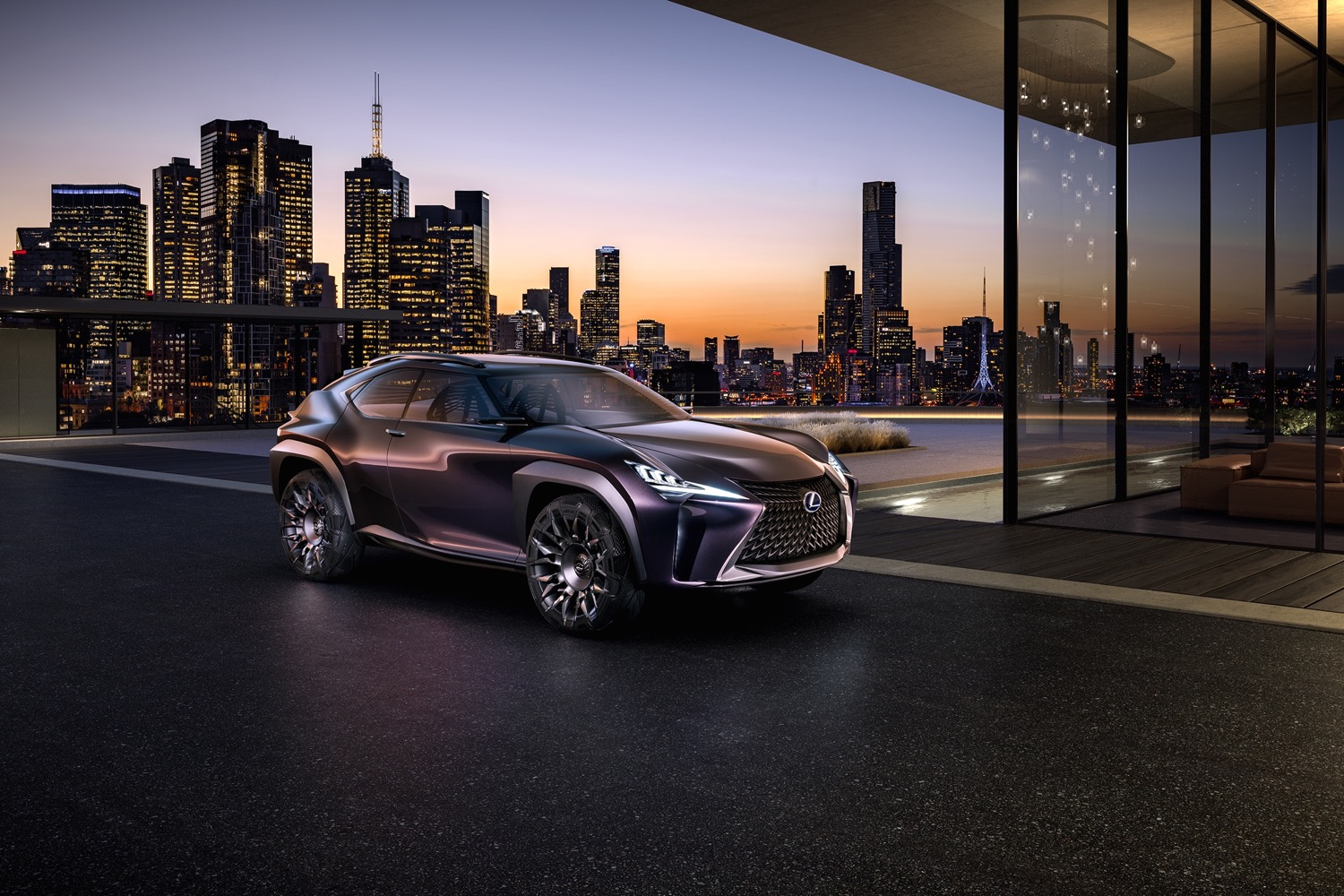 lexus ux small crossover utility still being studied for u.s. (update)