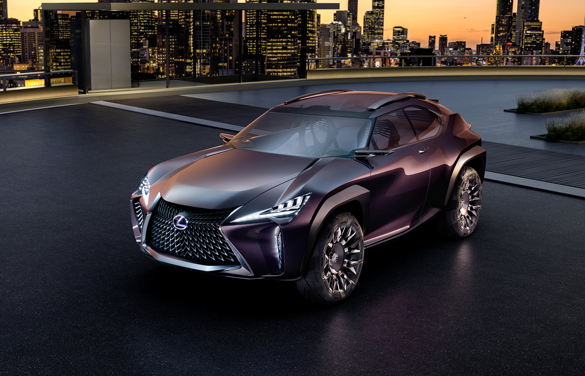 Lexus ux small crossover may get hybrid version that toyota c hr wont