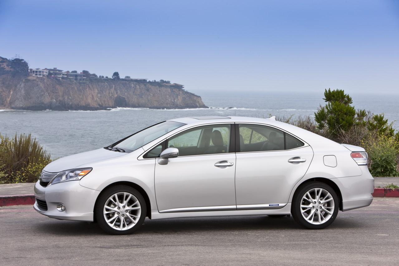 2010 Lexus HS 250h sedans recalled for potential hybrid-system failure