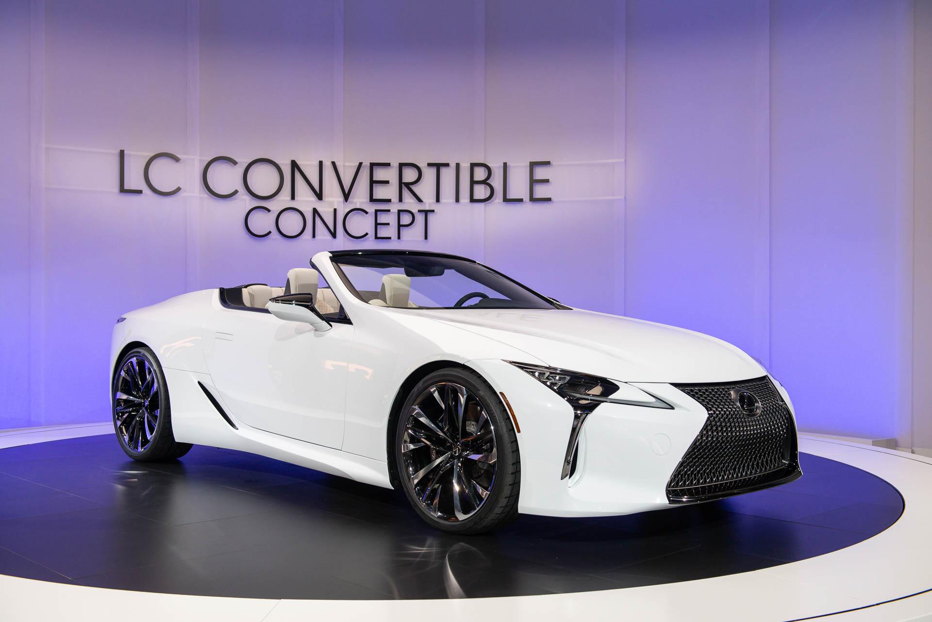 Lexus Sc Redux Lc Convertible Concept Hints At New Open Top Flagship