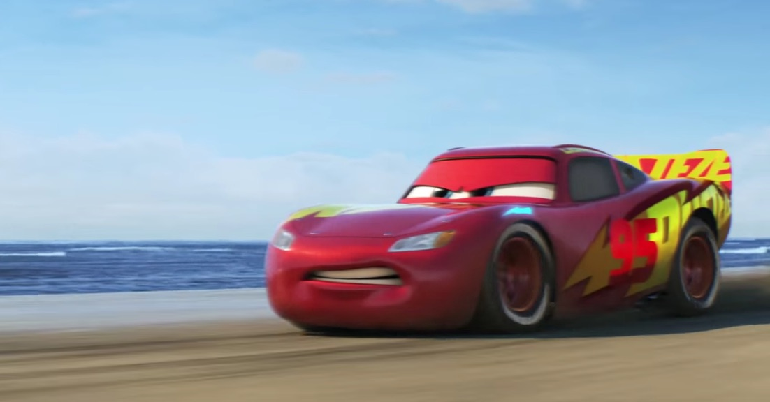 Electric Car Engines >> Latest 'Cars 3' trailer shows Lightning McQueen's triumphant return