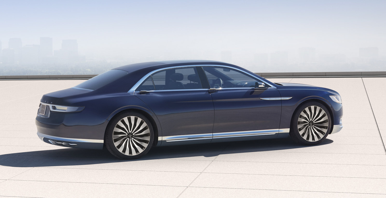 New Lincoln Continental Coming In 2016: Official
