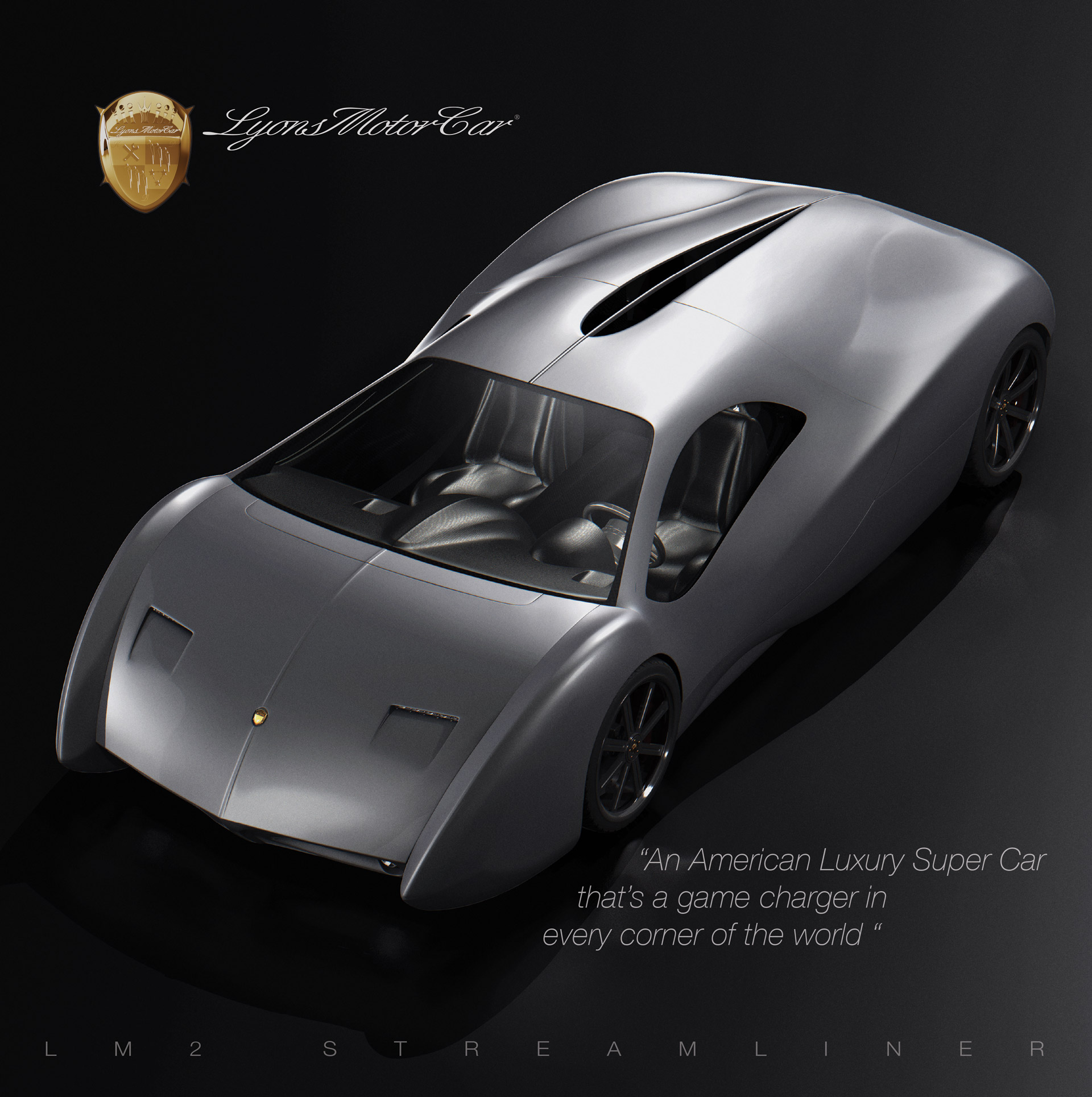 New Supercars: American Startup Bringing 1,700-HP LM2 Streamliner