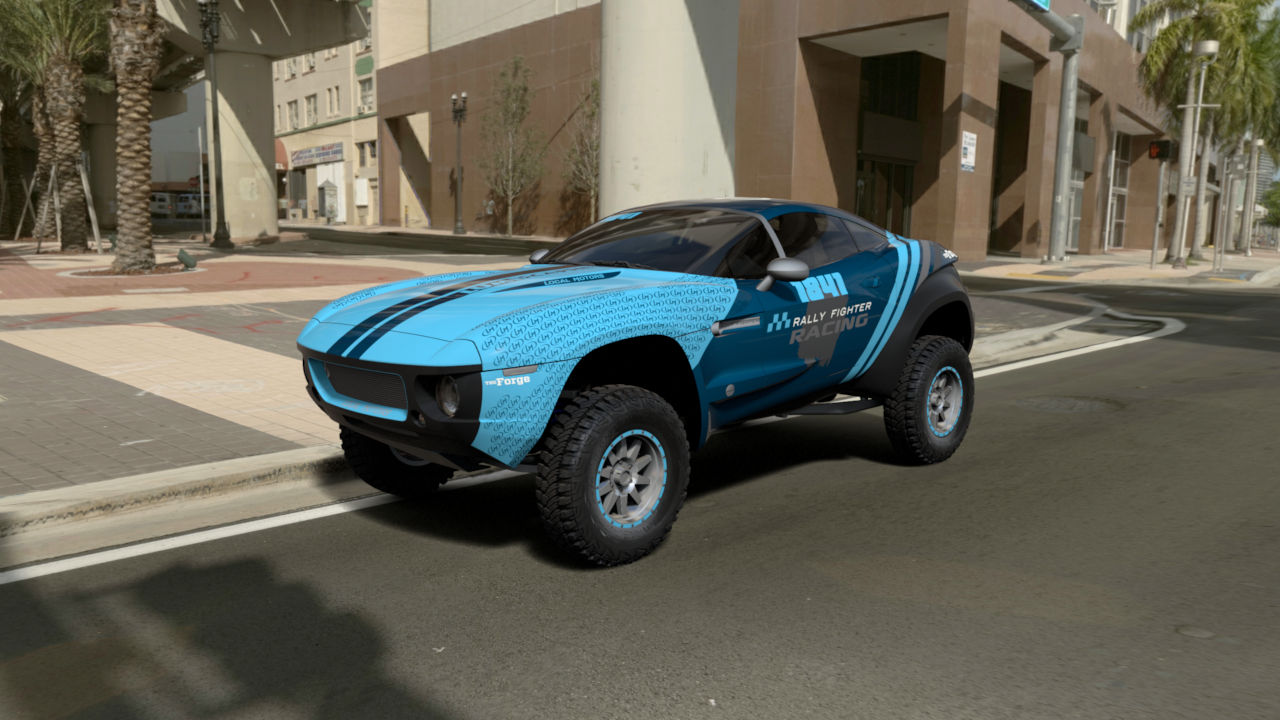 Local Motors Launches Rally Fighter Online Configurator Video