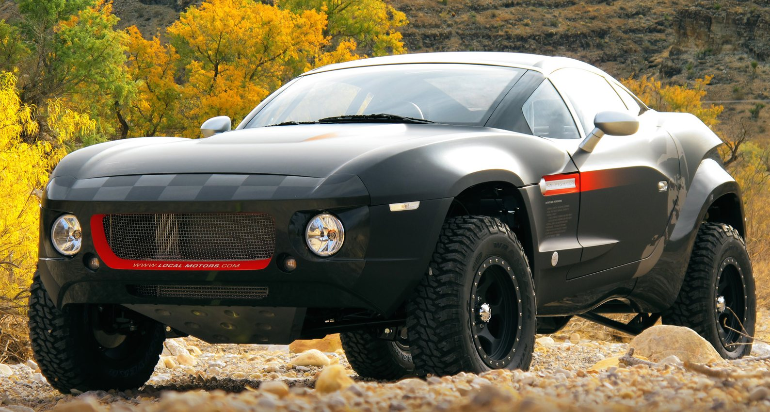Local Motors Rally Fighter >> Video Local Motors Rally Fighter Gets Freaky In The Dirt