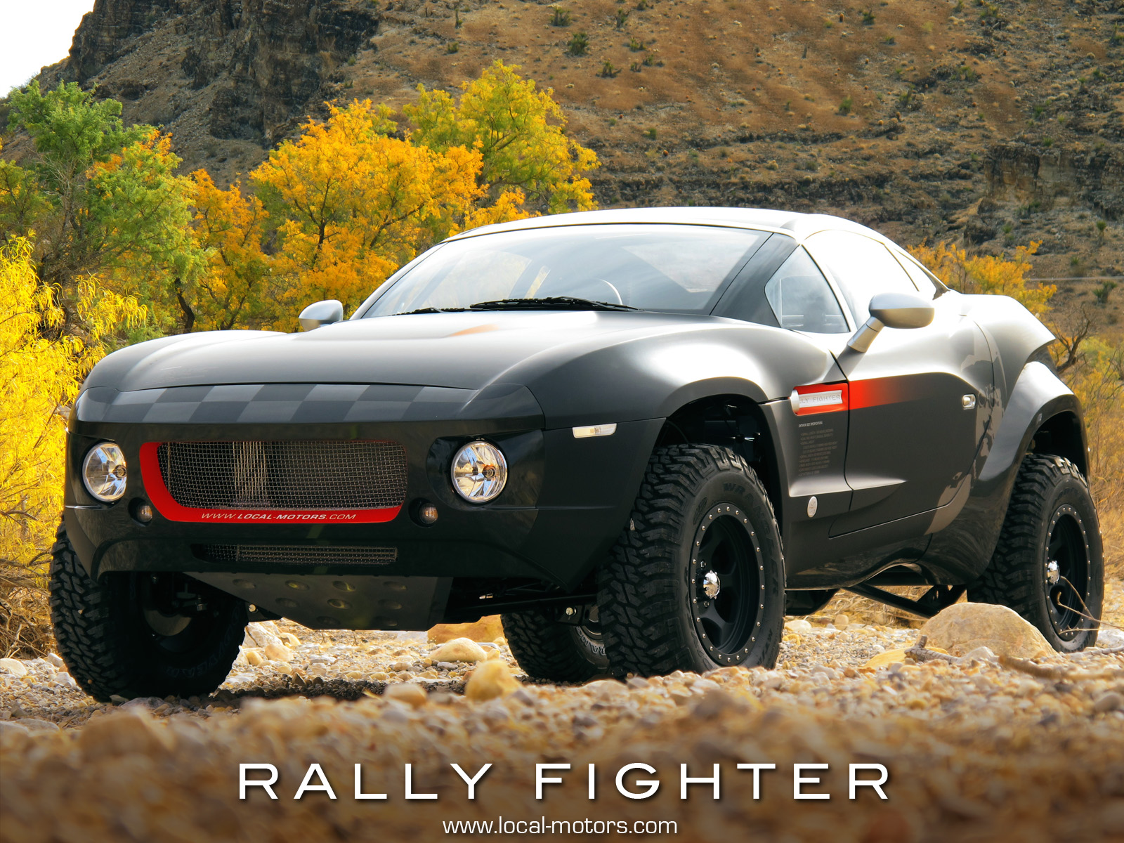 Local Motors Rally Fighter >> 2010 Sema Preview Local Motors Open Source Rally Fighter