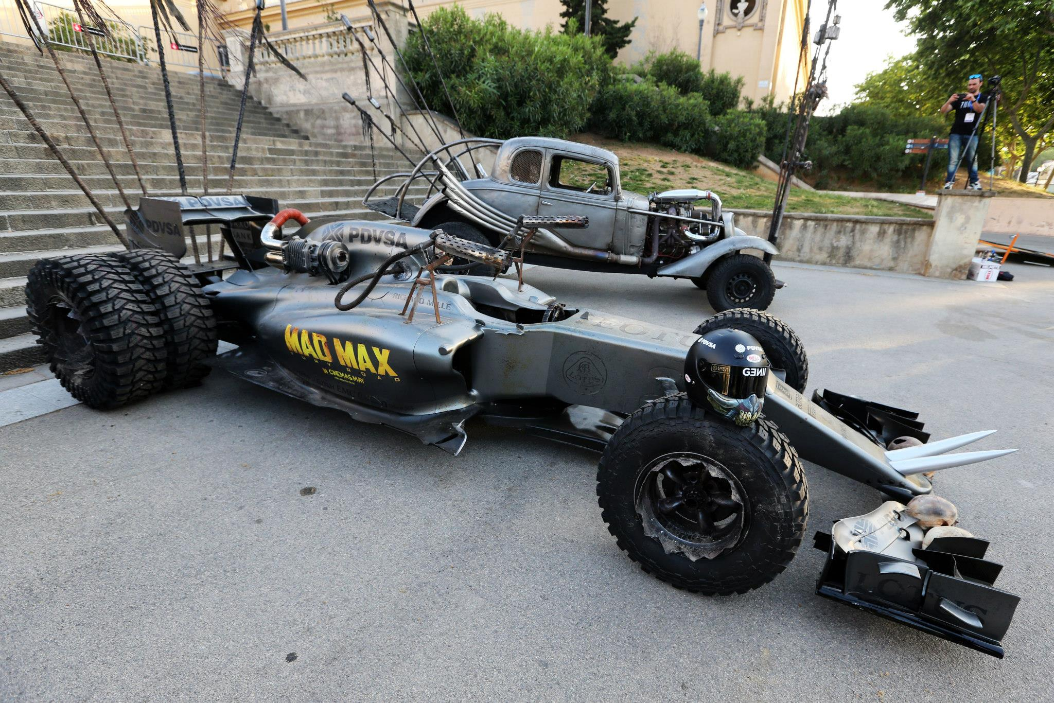 Lotus F1 Team Creates Awesome \'Mad Max\' Homage F1 Car