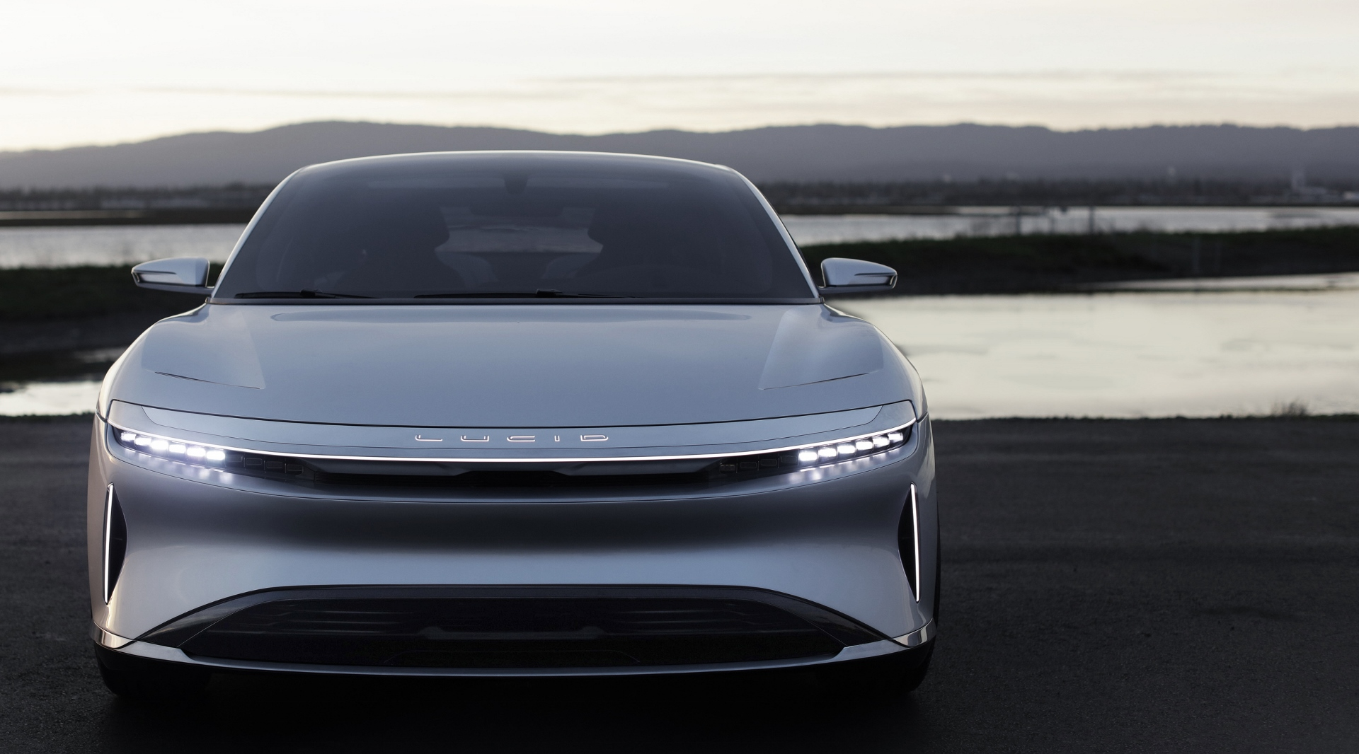 Lucid Air Electric Car Video Shows Luxury Sedan On The Road