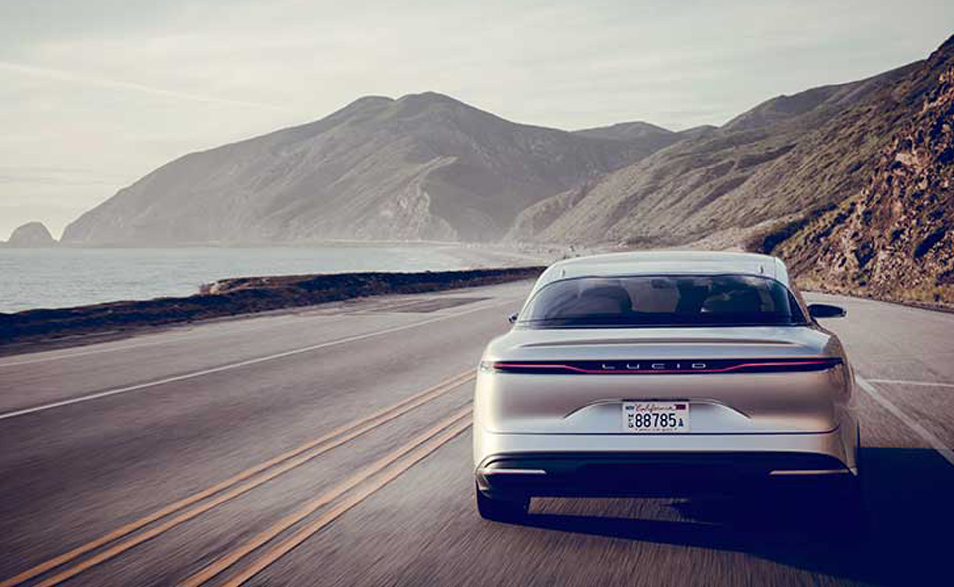 Lucid Air electric sedan won't use a huge battery for 400-mile Tesla-rivaling range