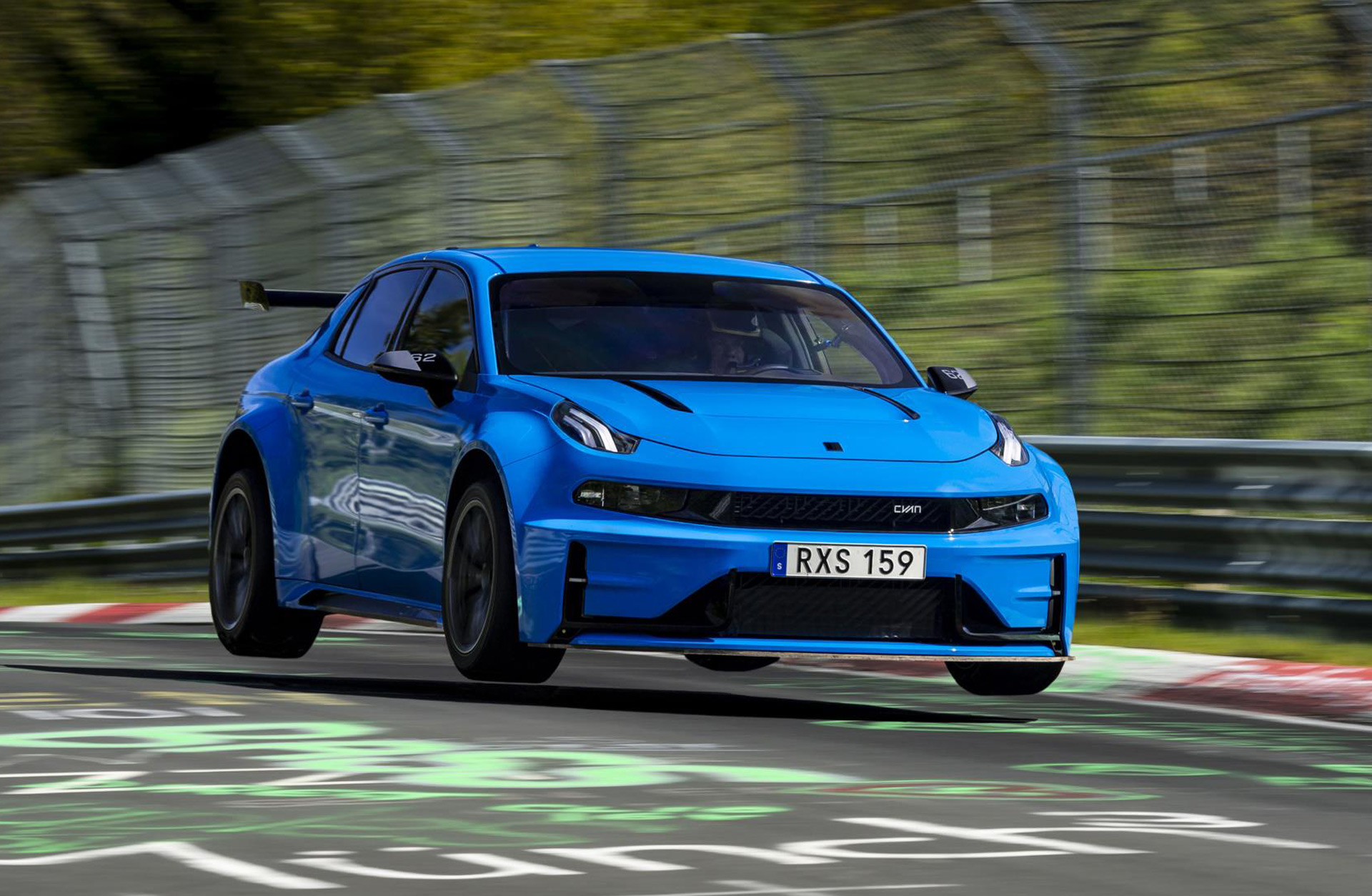 Lynk Co 03 Cyan Concept Is Fastest Street Legal 4 Door Around The Ring