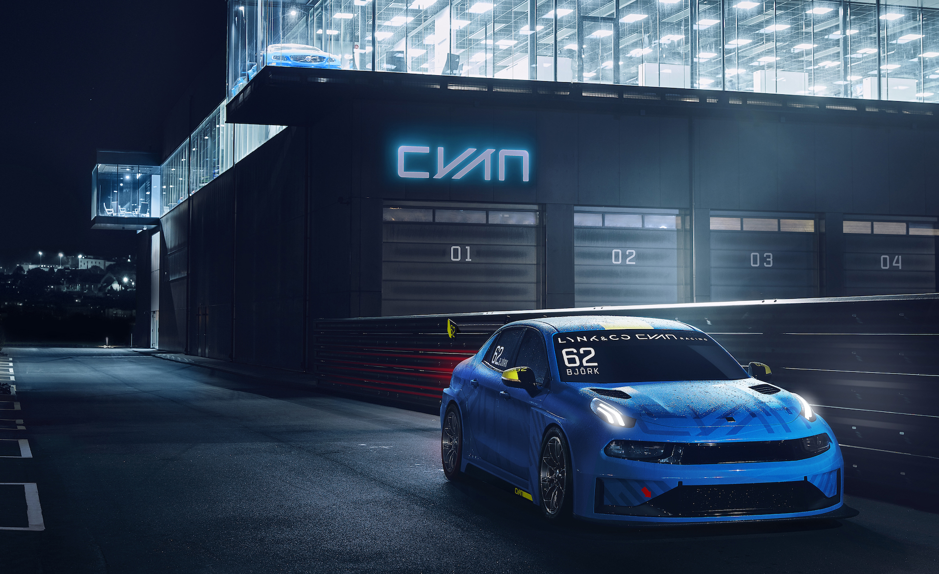 Lynk & Co. ready to go racing with 03 TCR