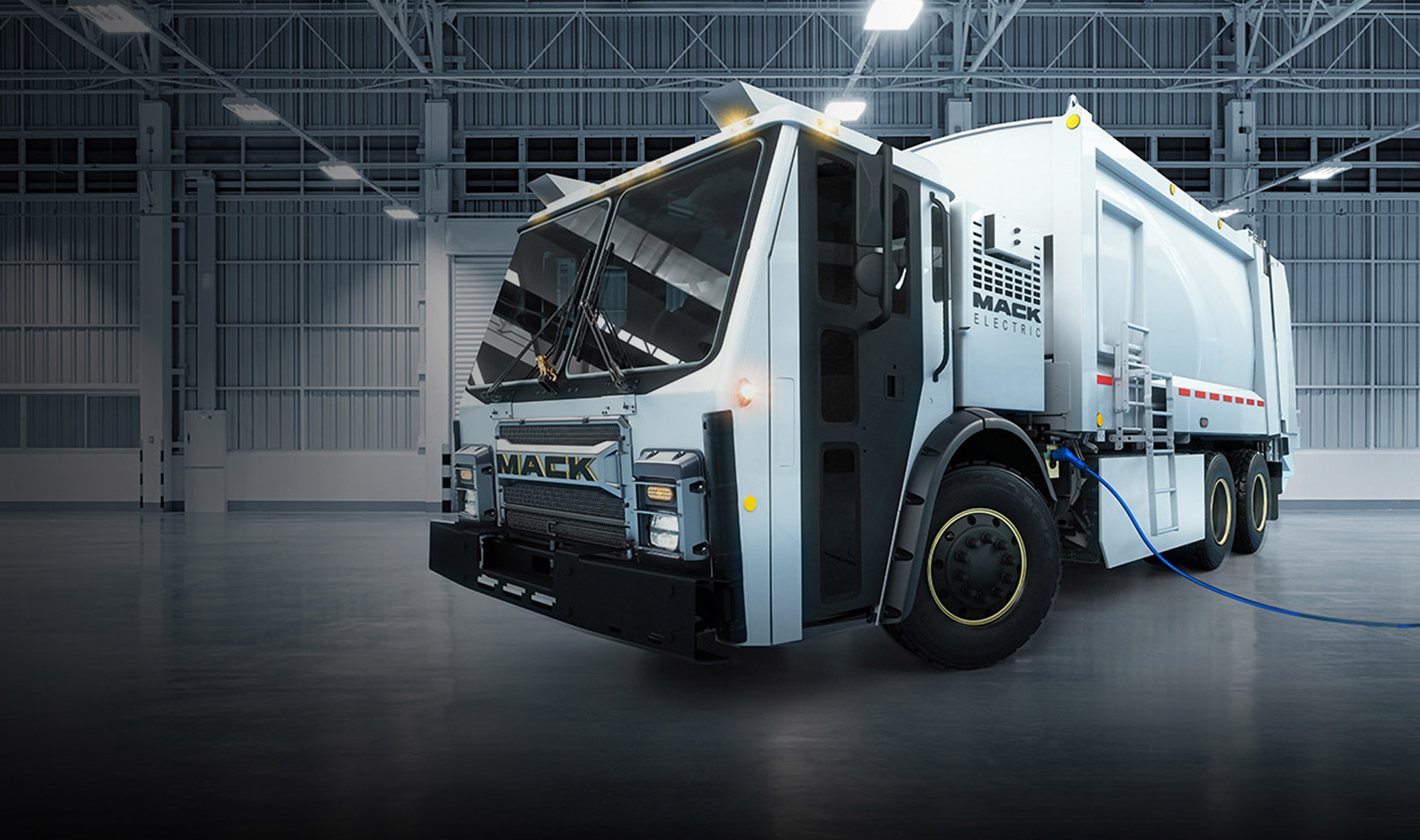 Mack plans to send electric trucks to the garbage dump