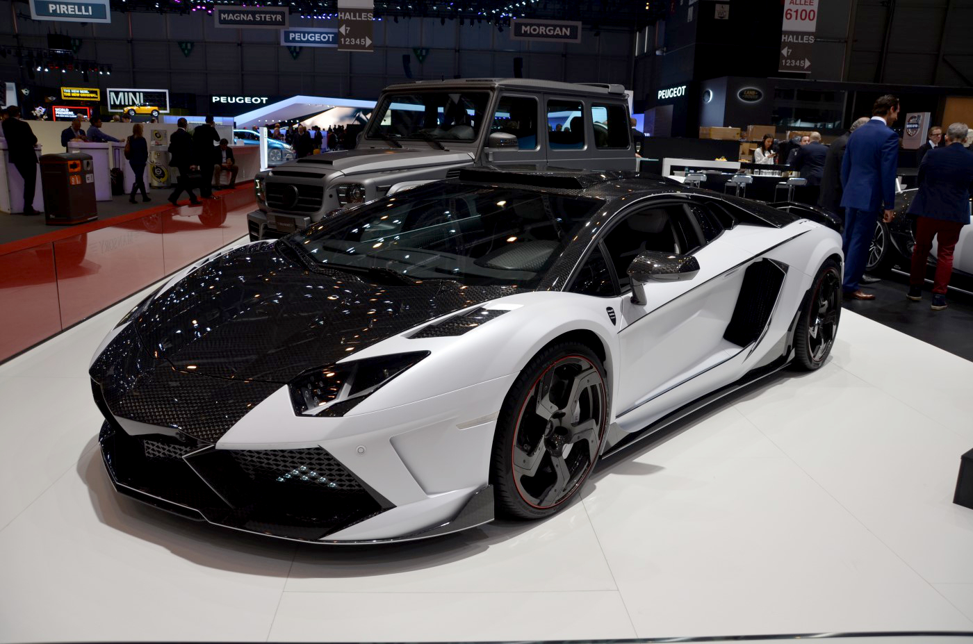 Mansory S 1 600 Hp Aventador And Other Geneva Stars Live