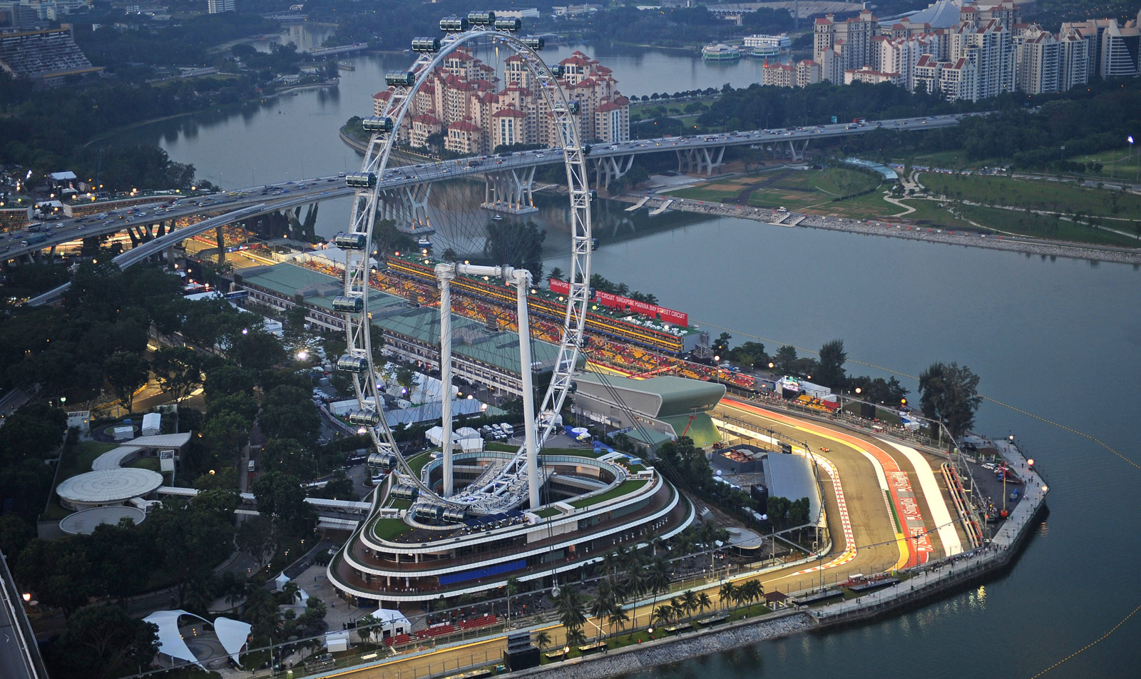 Formula 1 Singapore Grand Prix Weather Forecast
