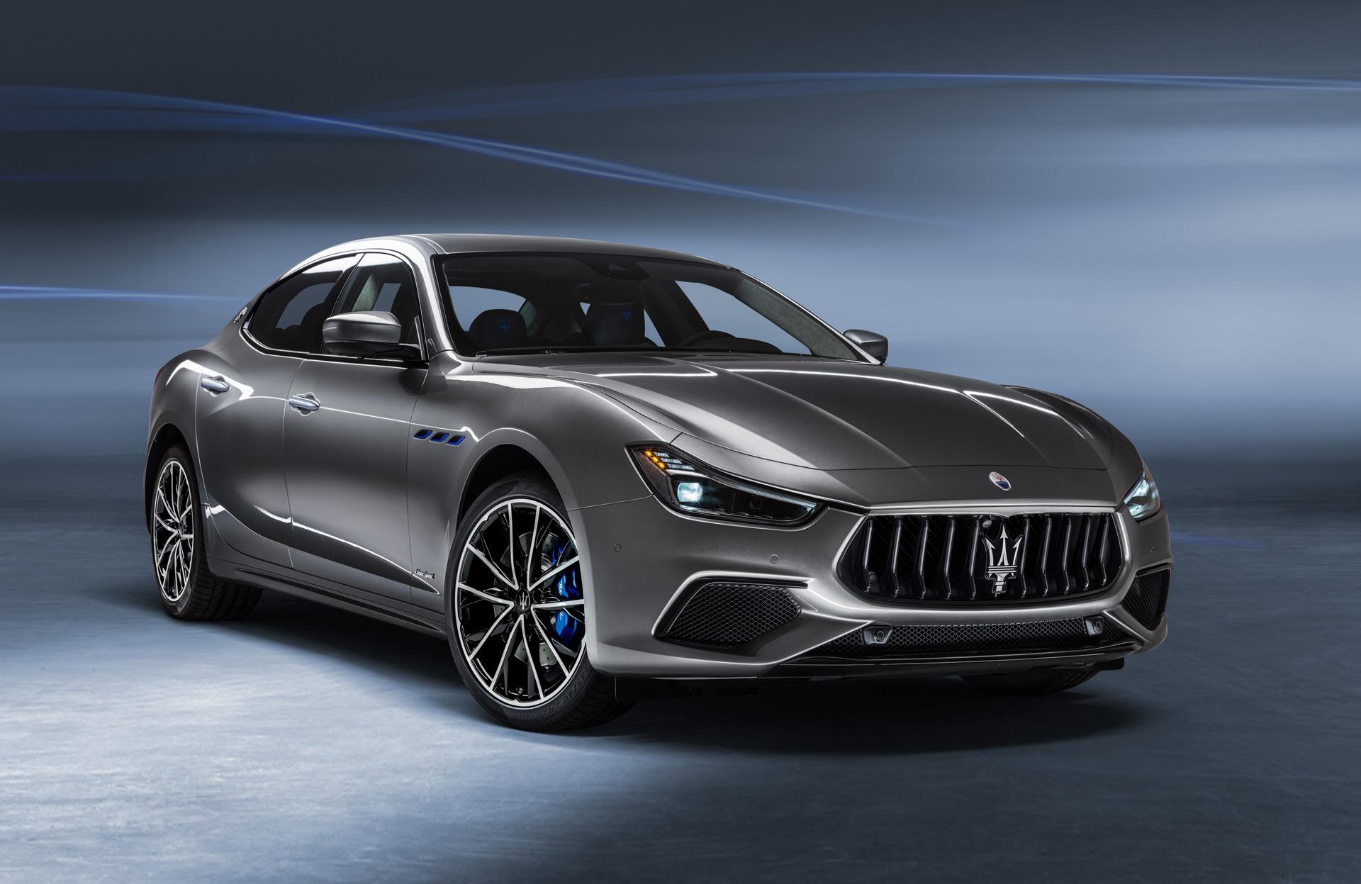 2021 Maserati Ghibli Hybrid marks start of brand's electrification