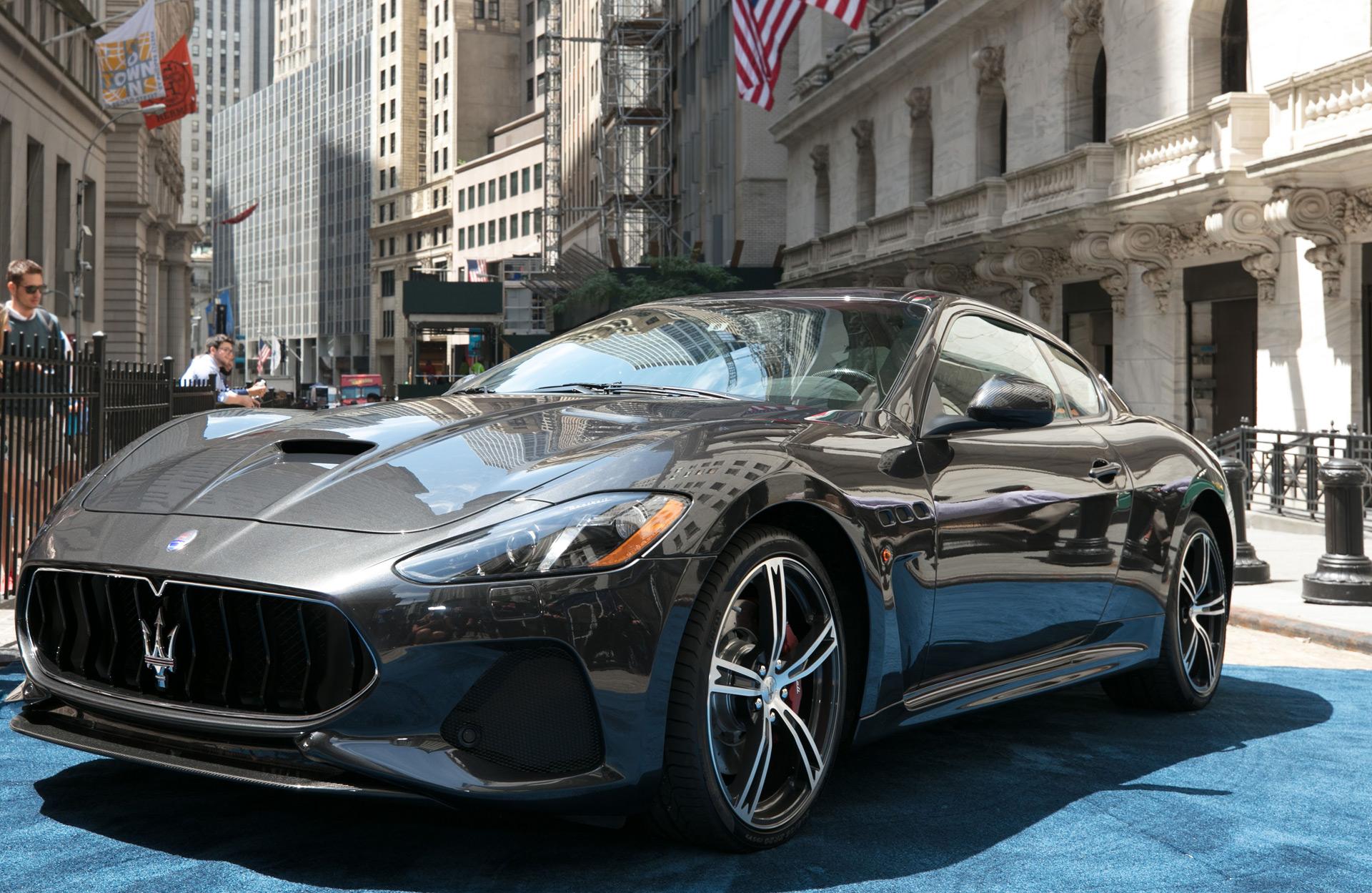 Souvent 2018 Maserati GranTurismo gets Alfieri-inspired grille IP55