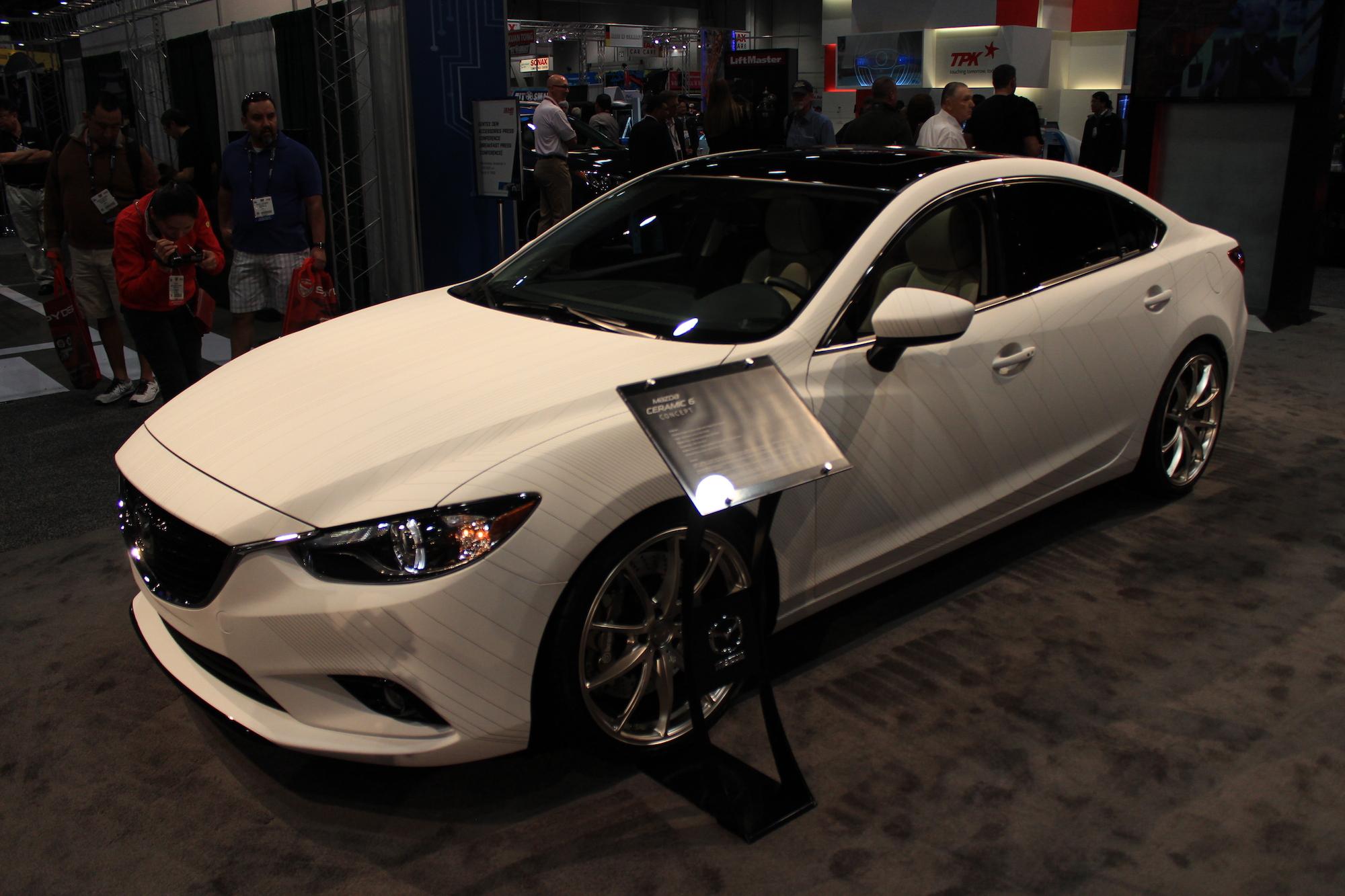 Mazda Shows Racy 3s 6s At Sema