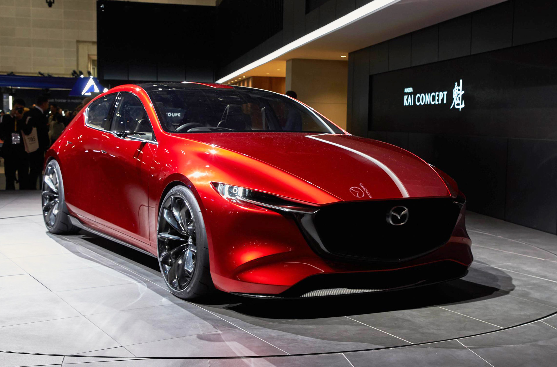 next gen mazda 3 previewed with kai technology concept. Black Bedroom Furniture Sets. Home Design Ideas