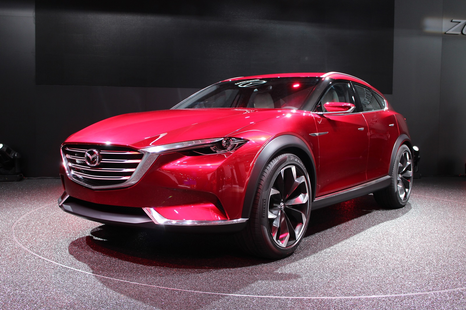 koeru concept previews mazda 39 s future suvs. Black Bedroom Furniture Sets. Home Design Ideas