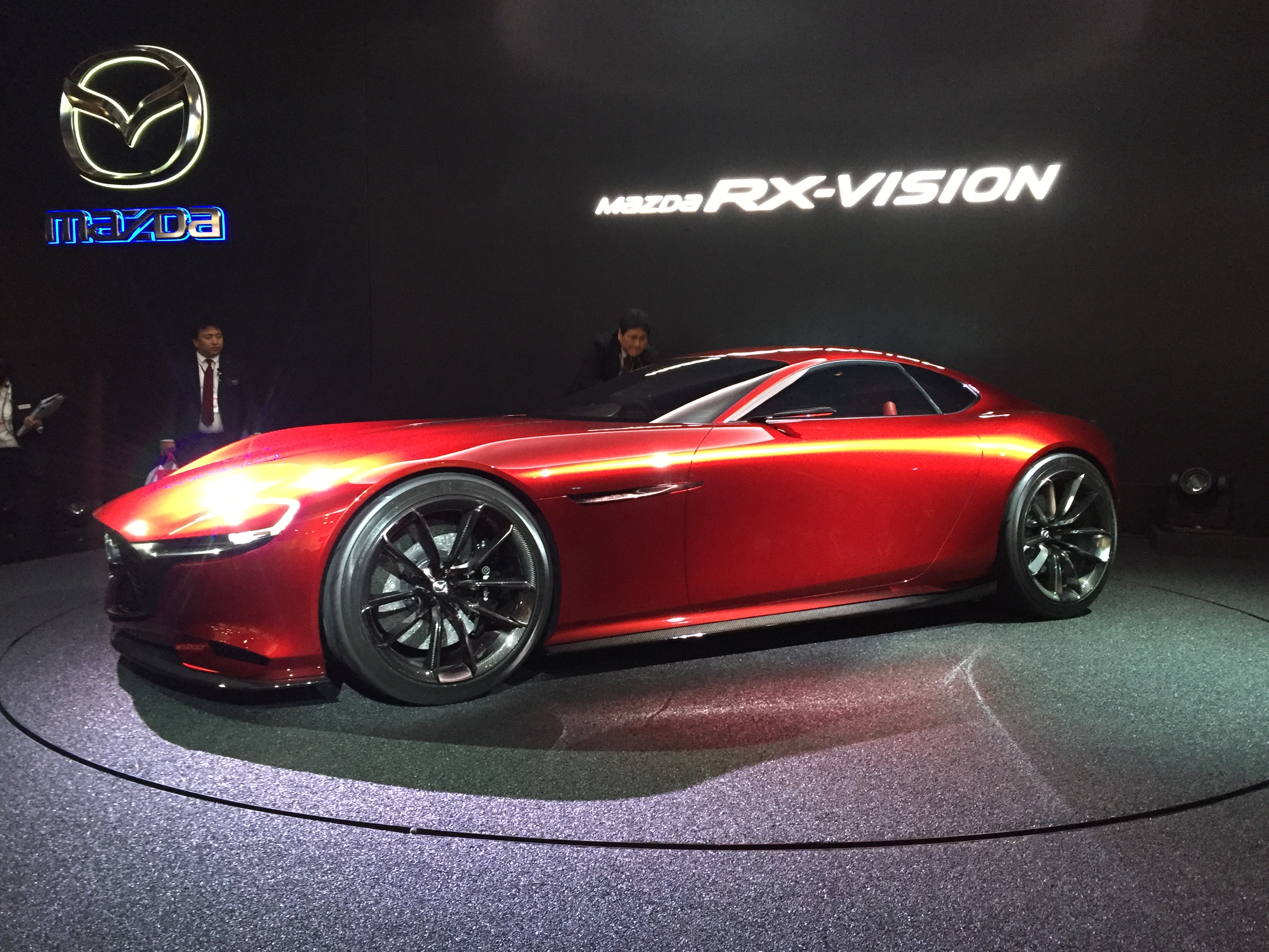 Mazda Rx Vision Concept Tokyo Motor Show H on Used Nissan Z Convertibles For Sale