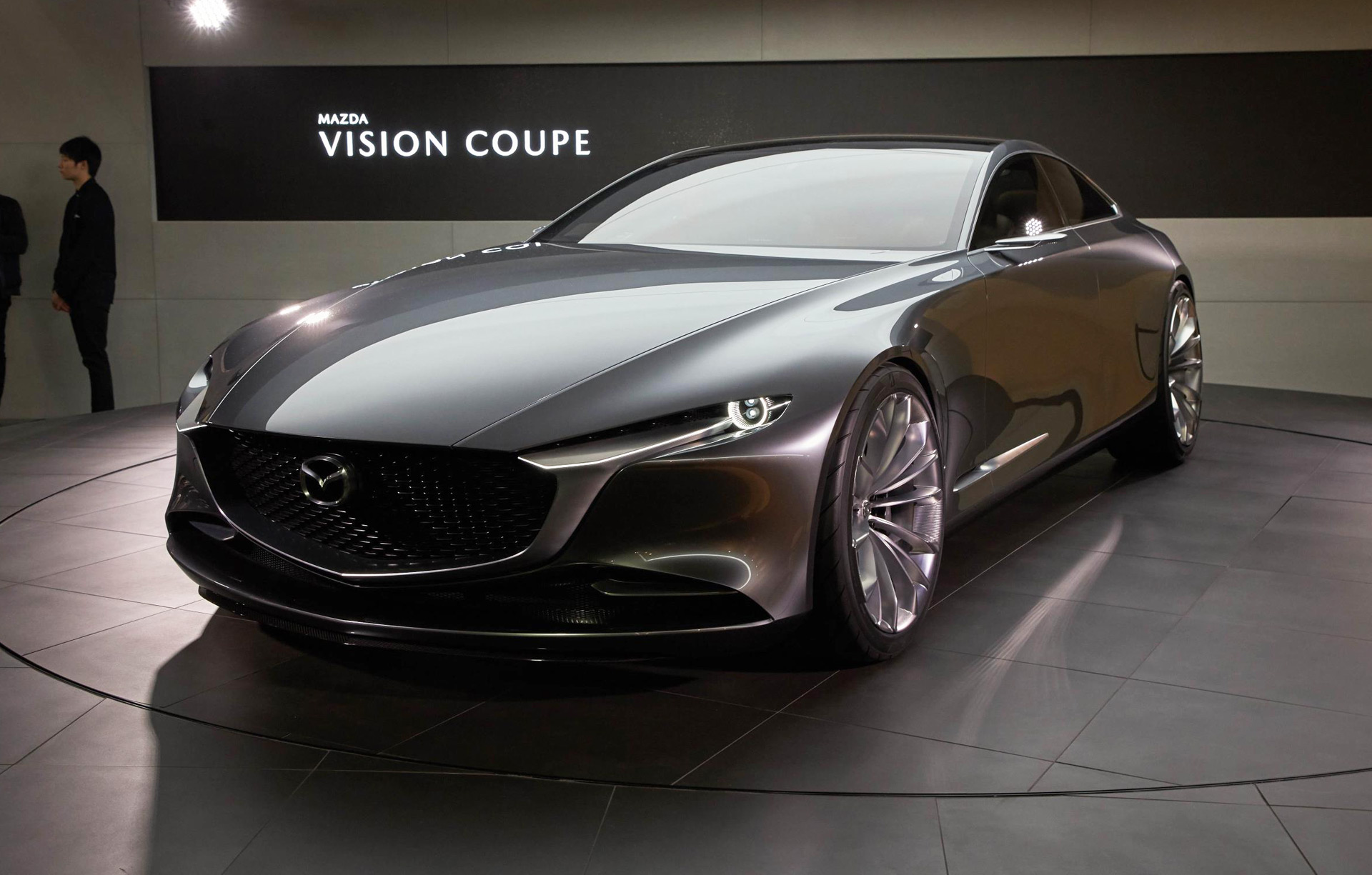 mazda embraces minimalism with vision coupe concept. Black Bedroom Furniture Sets. Home Design Ideas