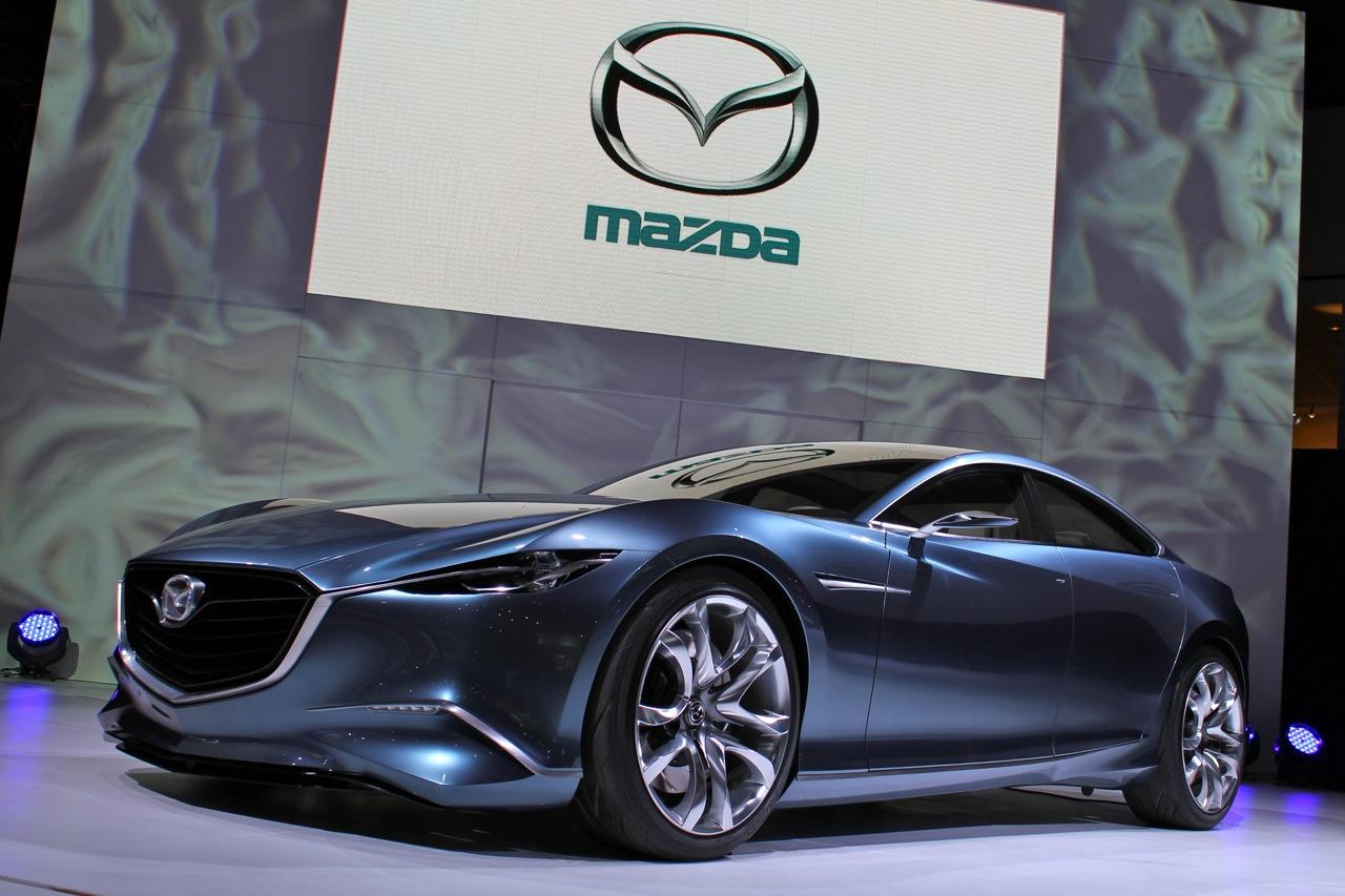 Mazda Shinari Kodo design concept debuts at 2010 Paris ...