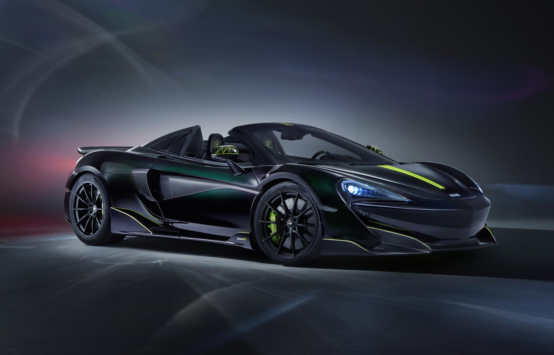 MSO has built a McLaren 600LT for the ultimate Spider-Man fan