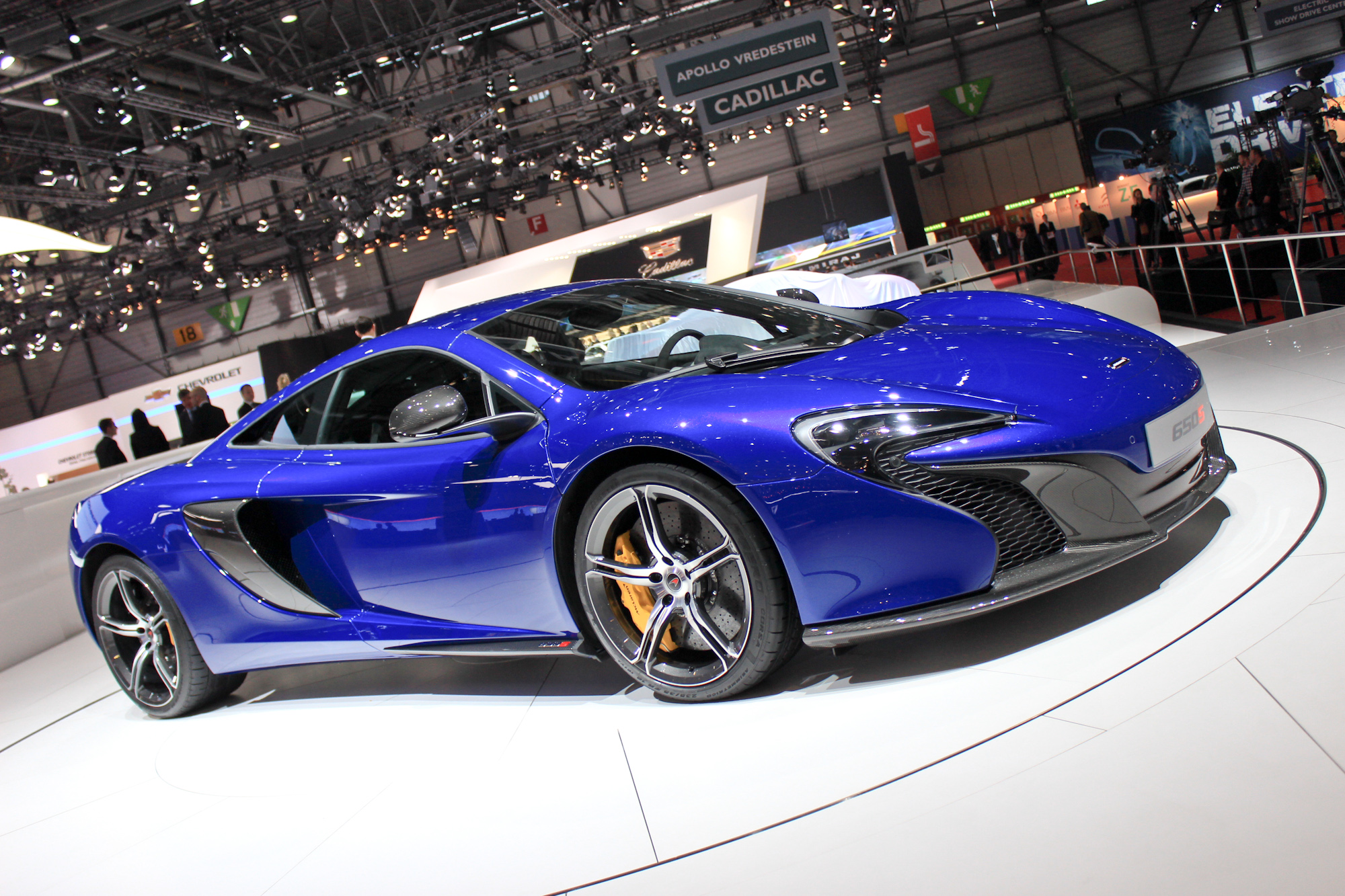 McLaren 650S Supercar: 2014 Geneva Motor Show Video And Live Photos