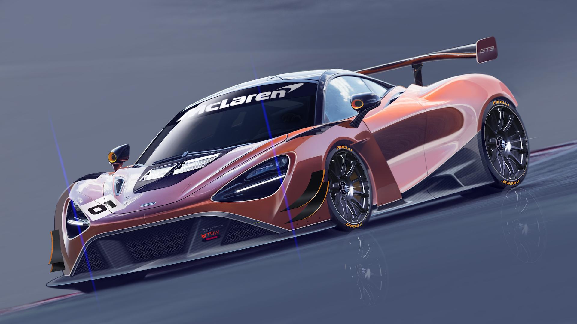 Mclaren To Launch One Make Racing Series In 2018 New 720s