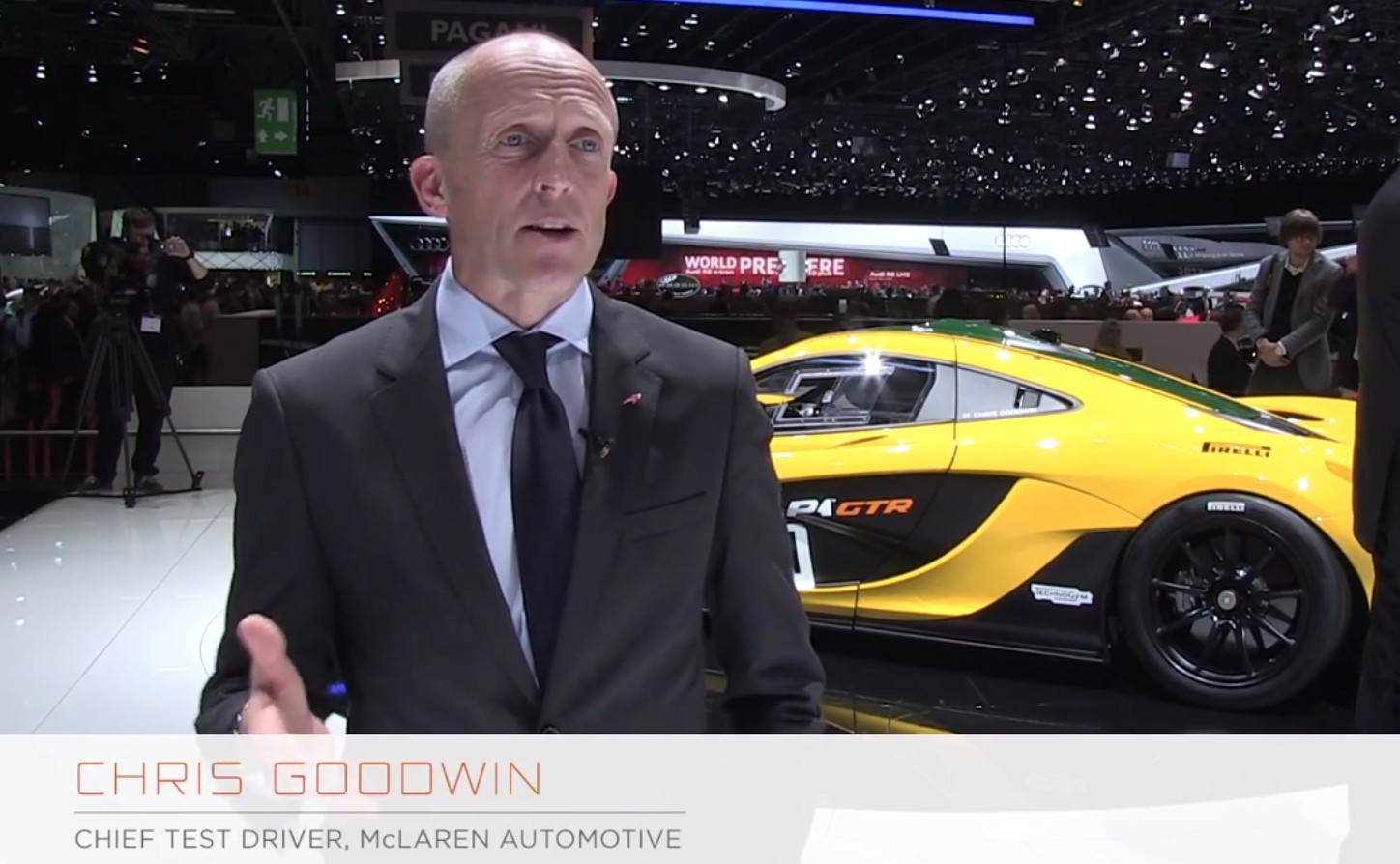 Mclaren Test Driver Chris Goodwin Explains The P1 Gtr S