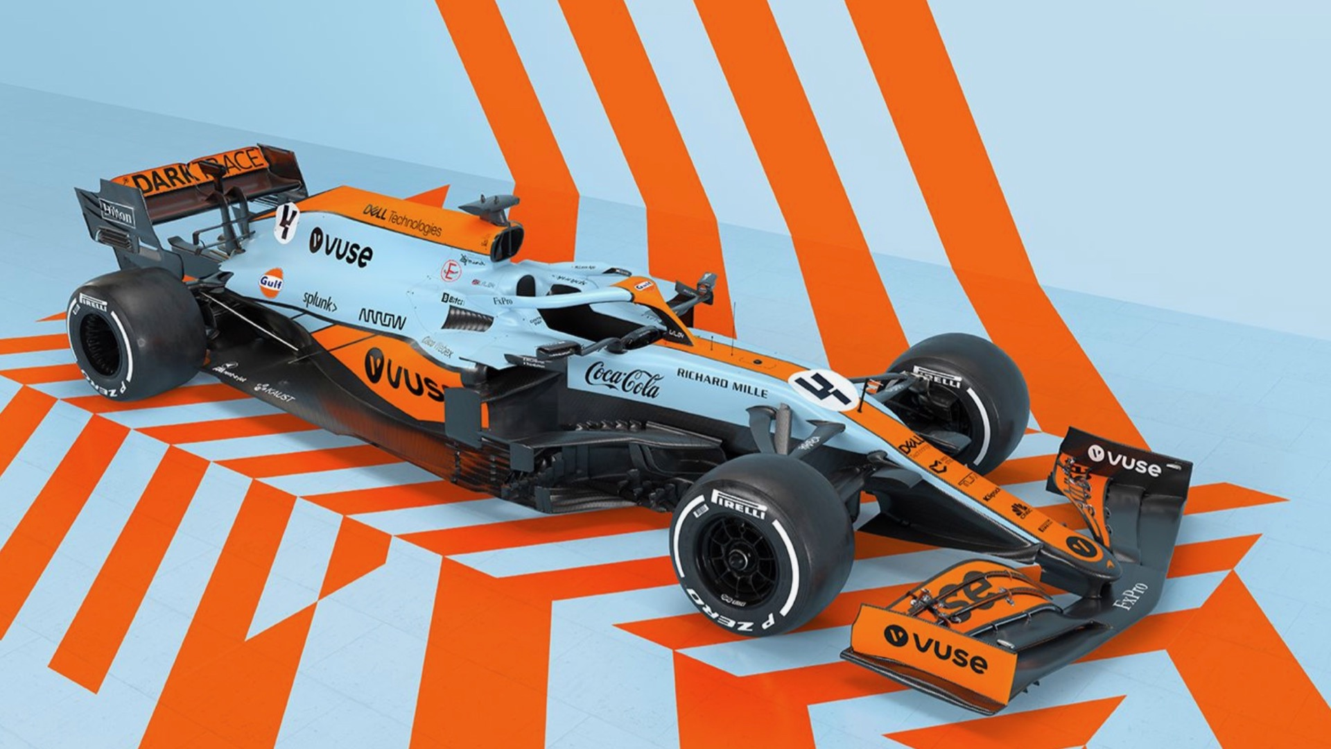 McLaren Formula One team to run Gulf Livery in Monaco
