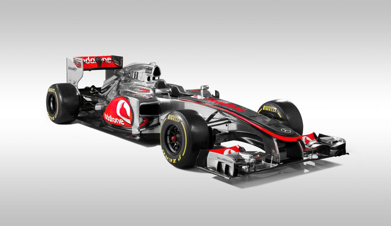 Mclaren Mp4 27 2012 Formula 1 Race Car Revealed