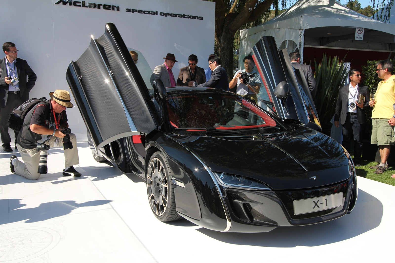 Mclaren Special Operations Shows X Supercar At Pebble Beach