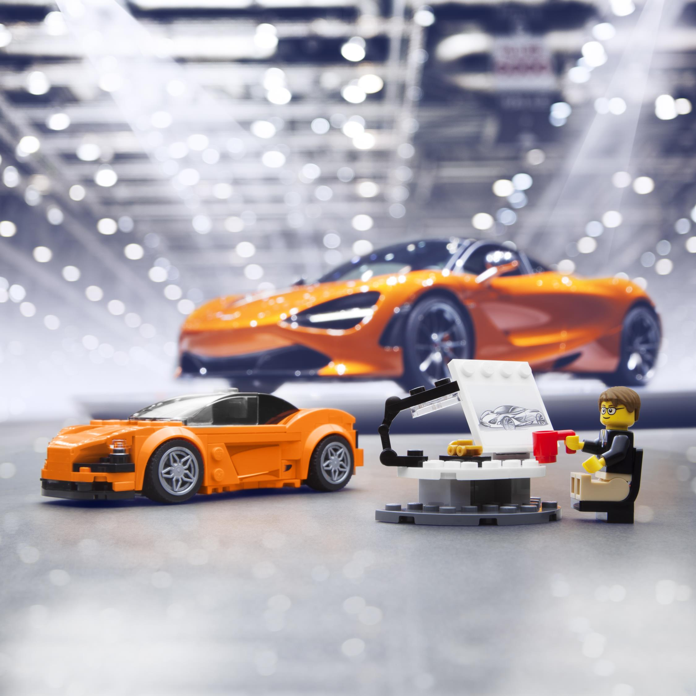 lego adds the mclaren 720s to speed champions series. Black Bedroom Furniture Sets. Home Design Ideas