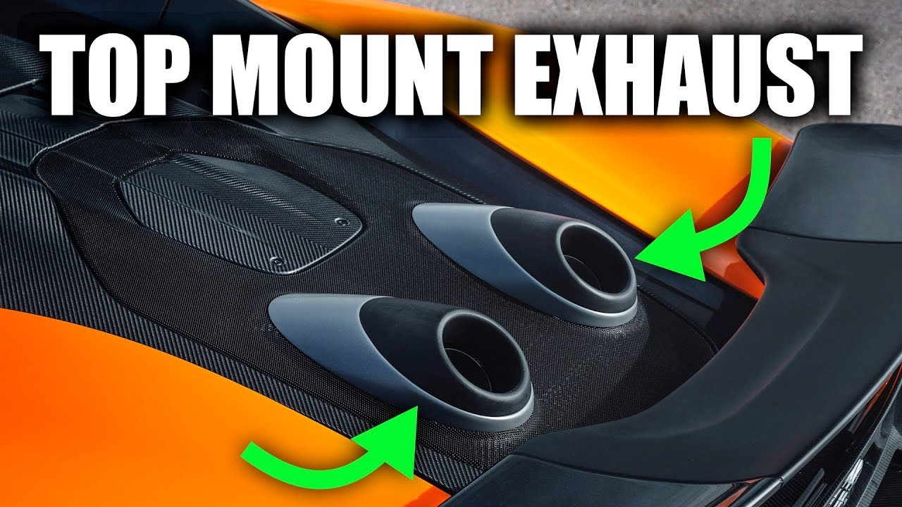 Learn why McLaren uses a top-mount exhaust for the 600LT