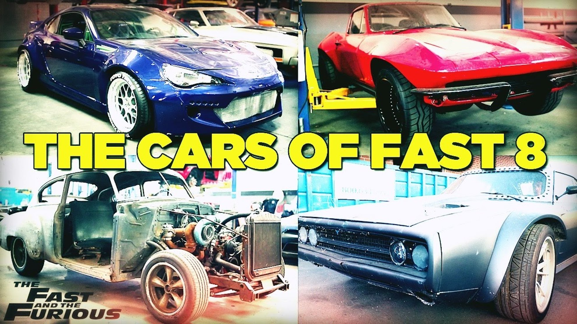 Meet The Cars Of Fast And Furious 8