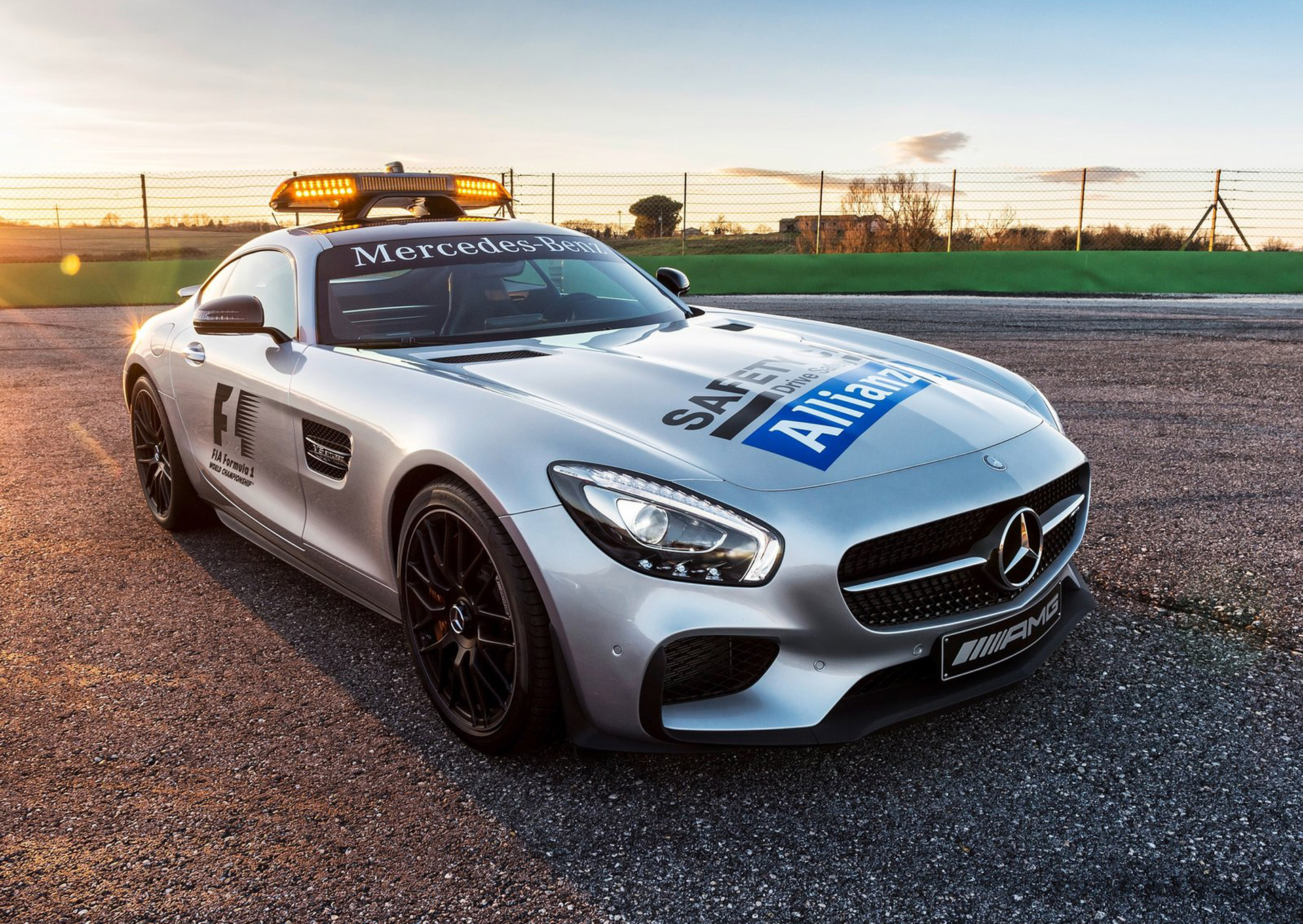 mercedesamg gt is the new f1 safety car