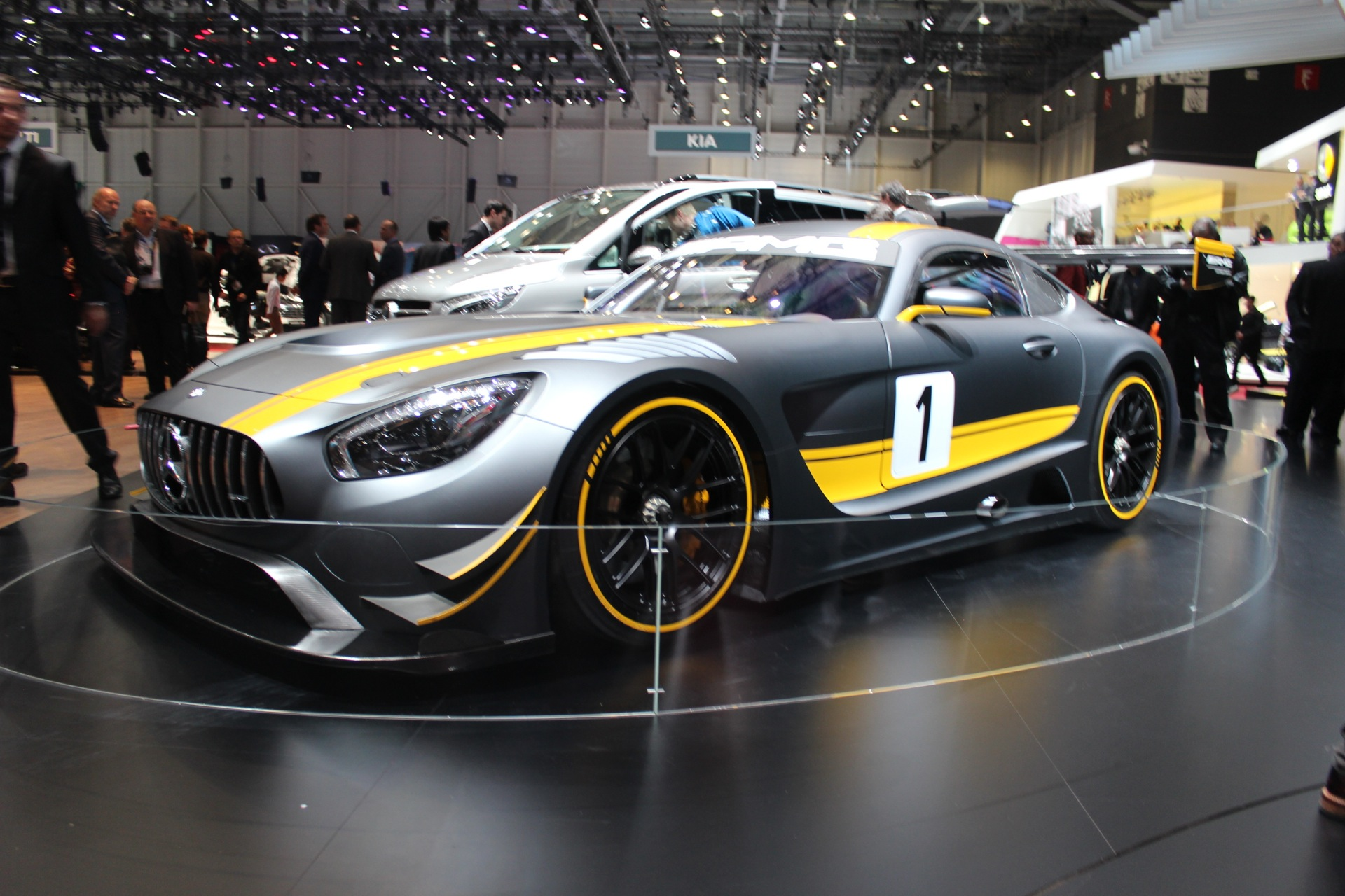Mercedes Amg Race Car Live Photos From Geneva Motor Show