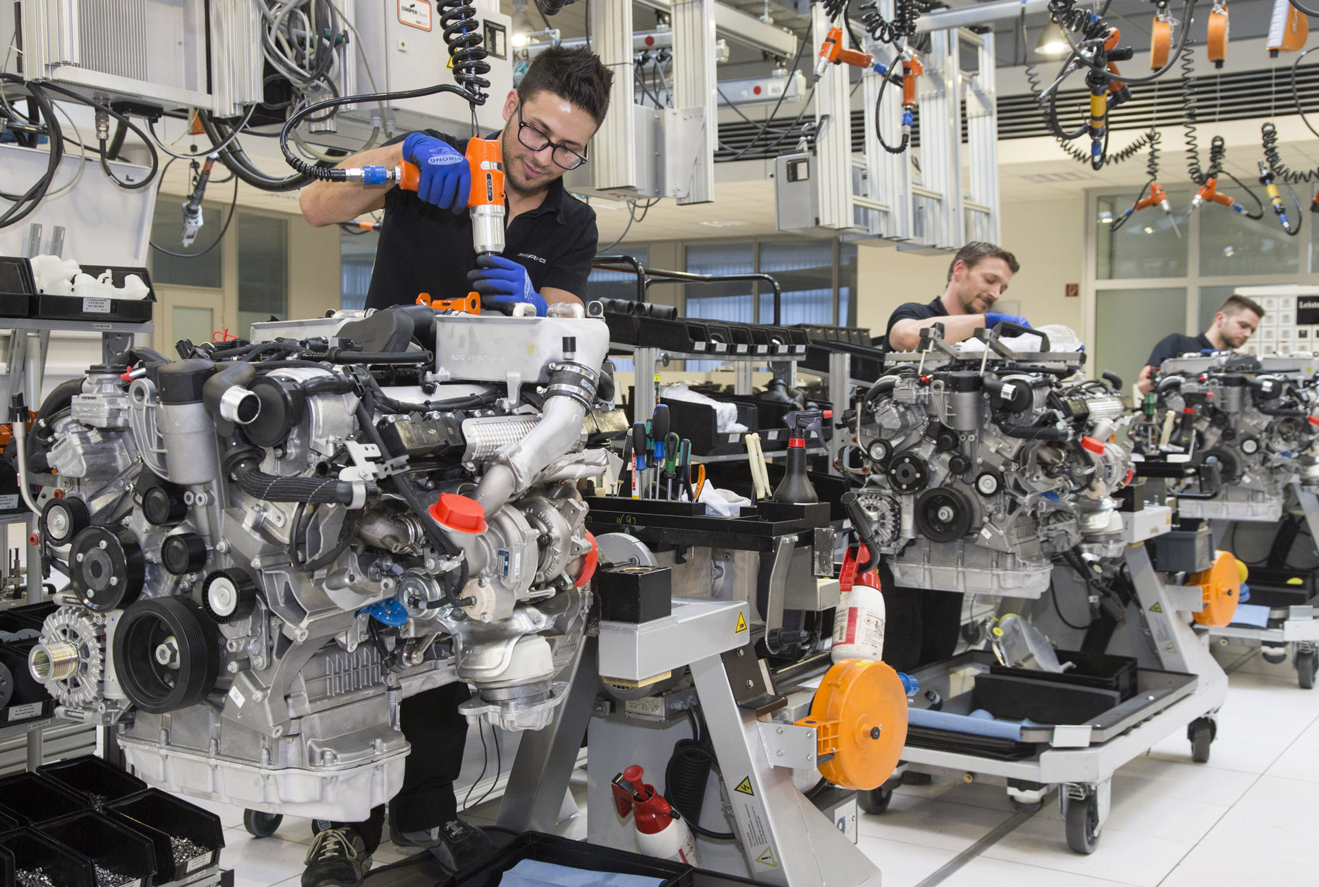 Mercedes Amg To Start New Engine Production Line To Meet