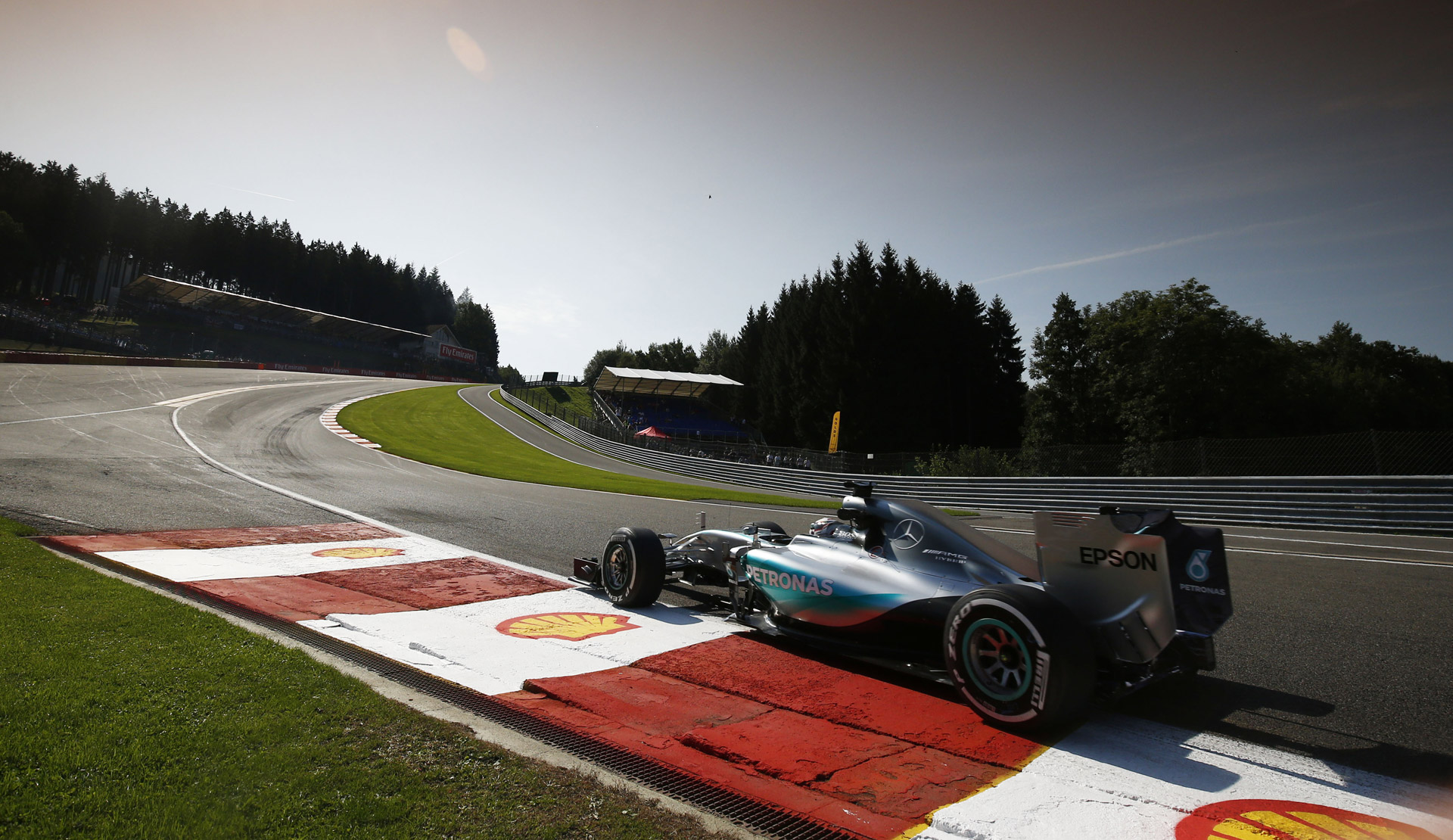 Mercedes Amg Locks Out Front Row For 2015 Formula One