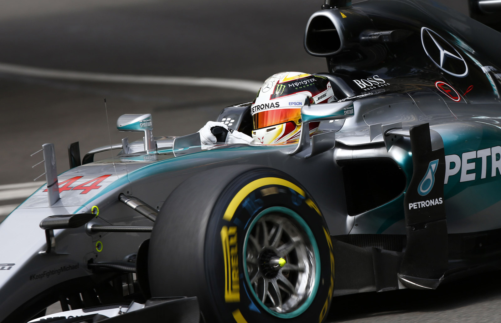 Lewis Hamilton Takes 2015 Formula One Monaco Grand Prix Pole