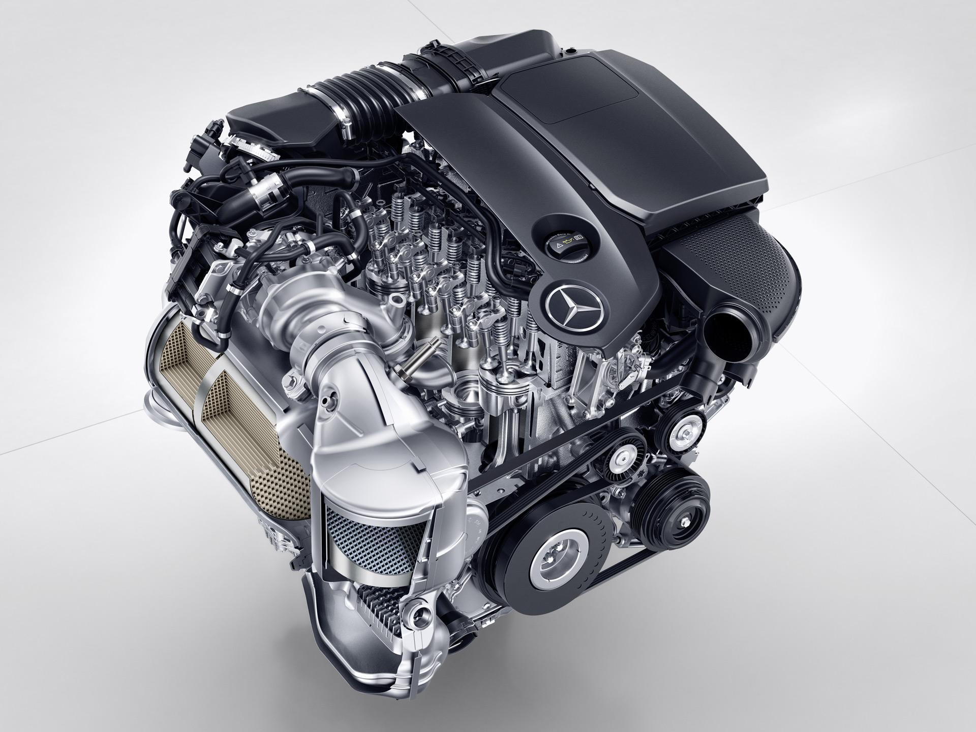 generation of new debuts mercedes engines emercedesbenz diesel benz the cylinder weblog cyindler unofficial four