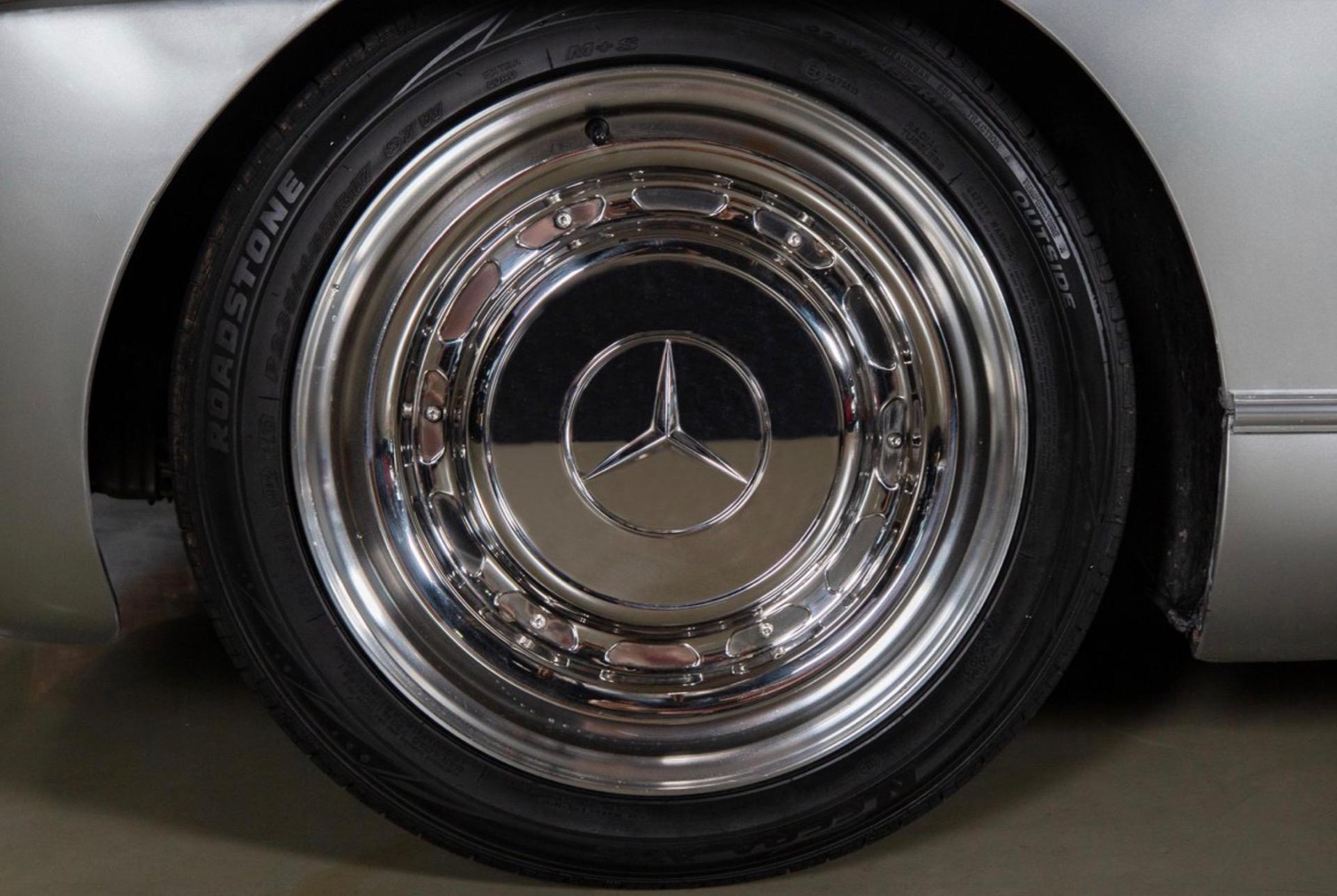 The Mercedes-Benz 300SL