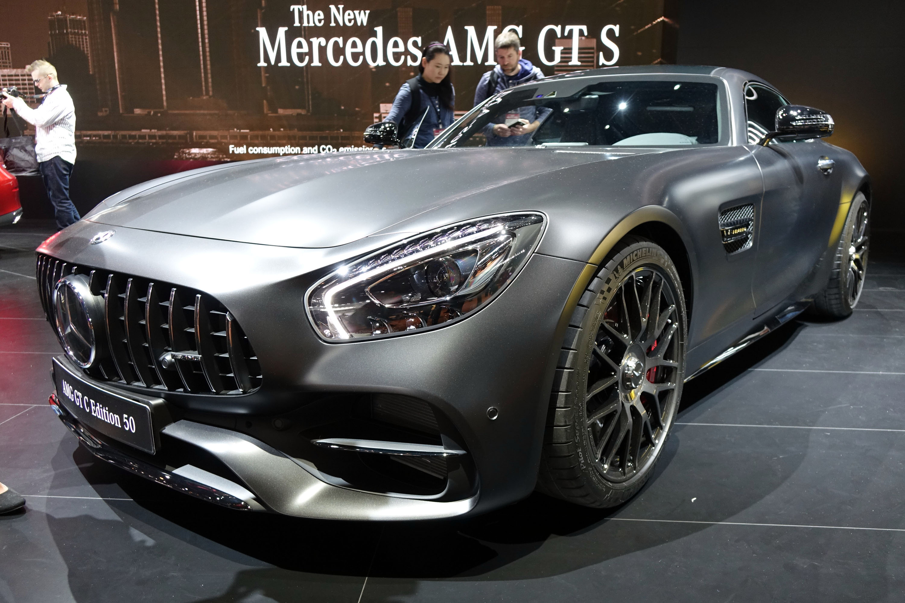 MercedesAMG GT C Debuts At Detroit Auto Show - Mercedes car show 2018