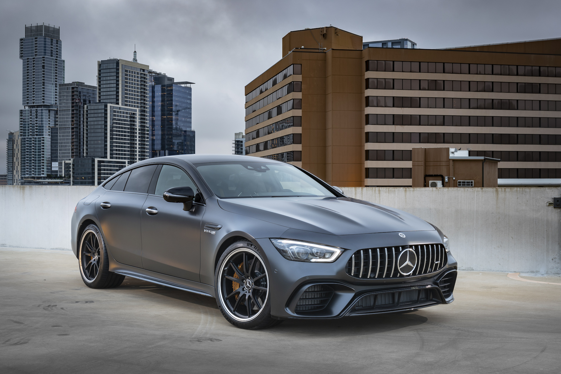 Mercedes-AMG GT 4-Door Coupe likely to spawn hybrid model ...