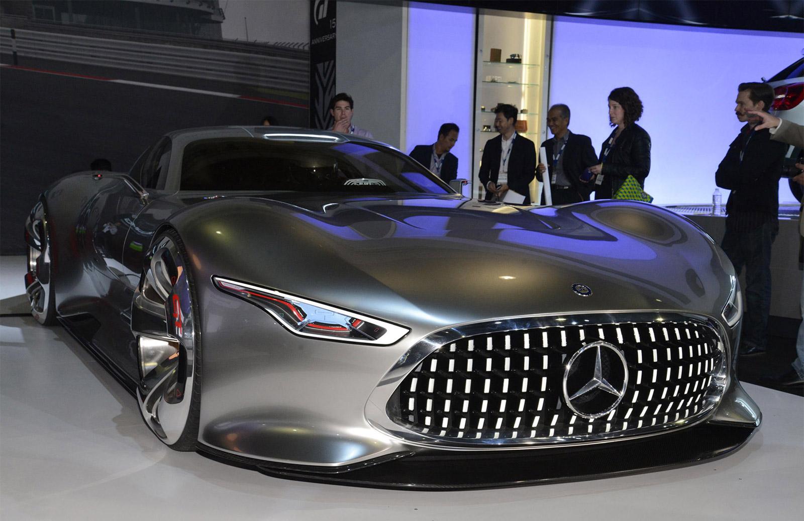 MercedesBenz AMG Vision Gran Turismo LA Auto Show Video - Mercedes car show