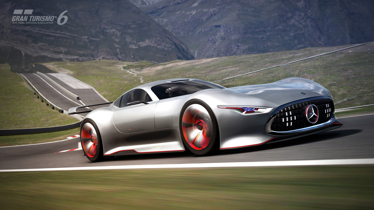 Mercedes-Benz AMG Vision Gran Turismo Racing Series For Gran Turismo 6