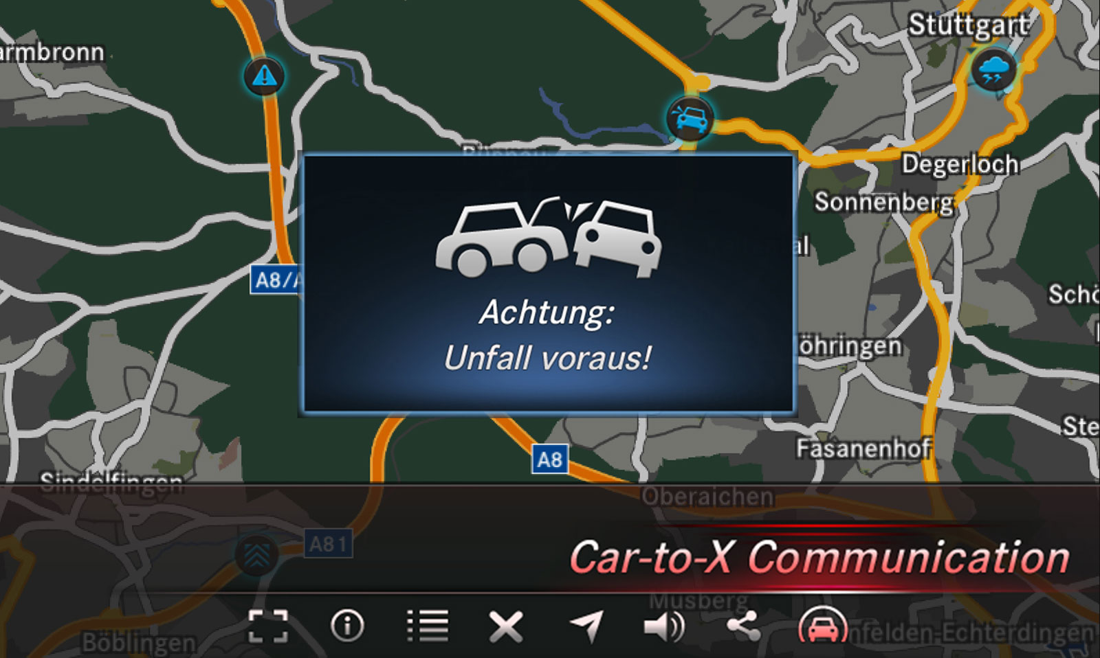 Mercedes-Benz To Offer Car-2-Car Communication This year
