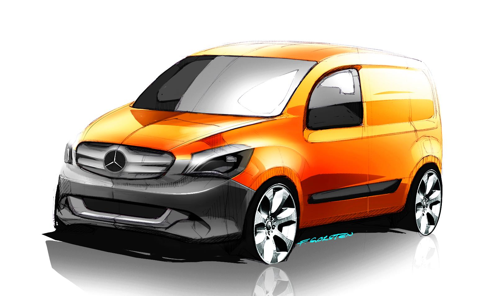 All Electric Mercedes Isn T What You Think It S A Small Van