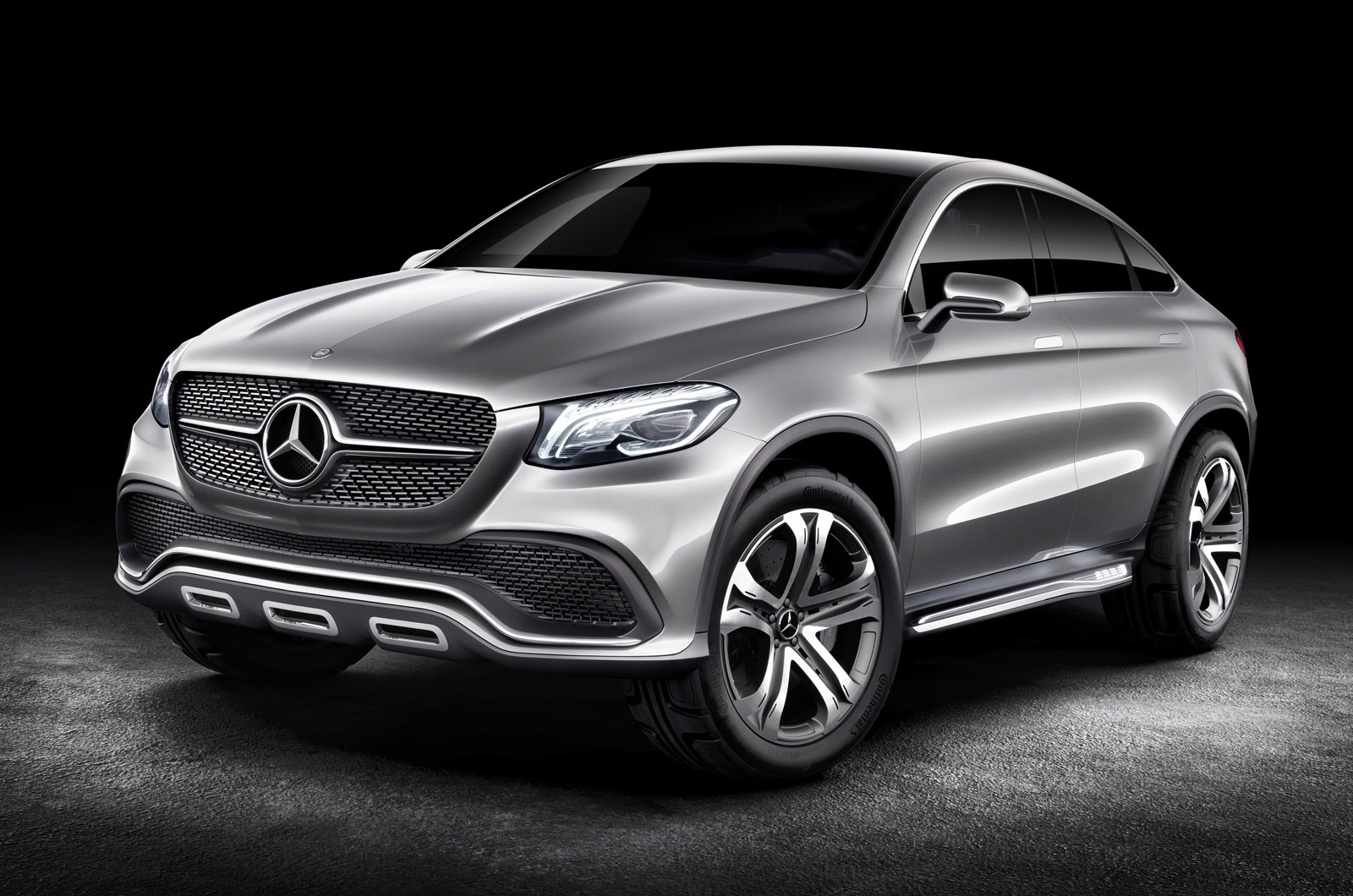 Mercedes Concept Coupe Suv Previews Automaker S Bmw X6 Rival